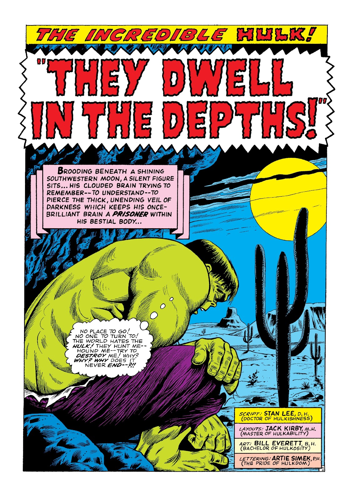 Read online Marvel Masterworks: The Incredible Hulk comic -  Issue # TPB 3 (Part 1) - 8