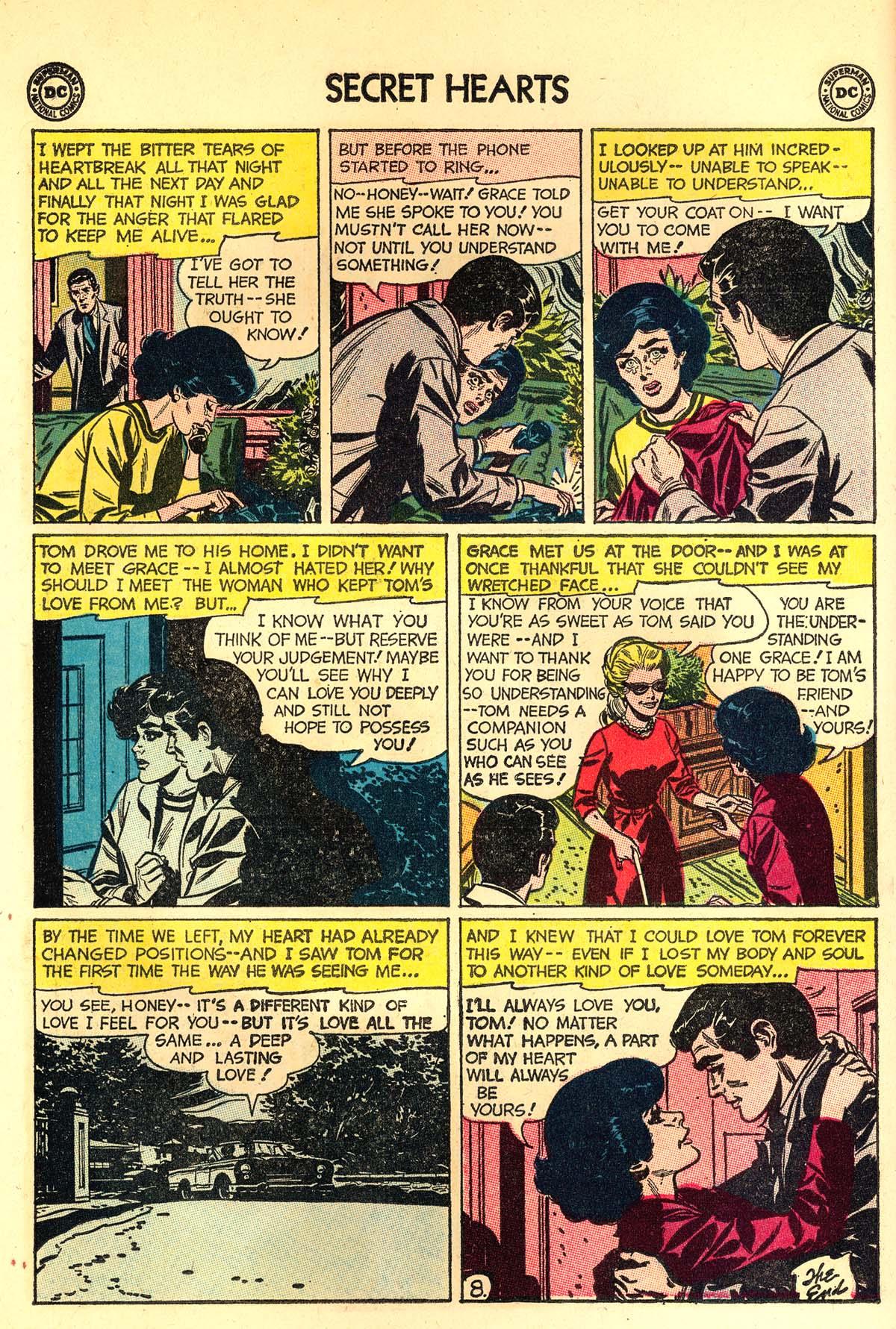 Read online Secret Hearts comic -  Issue #89 - 10