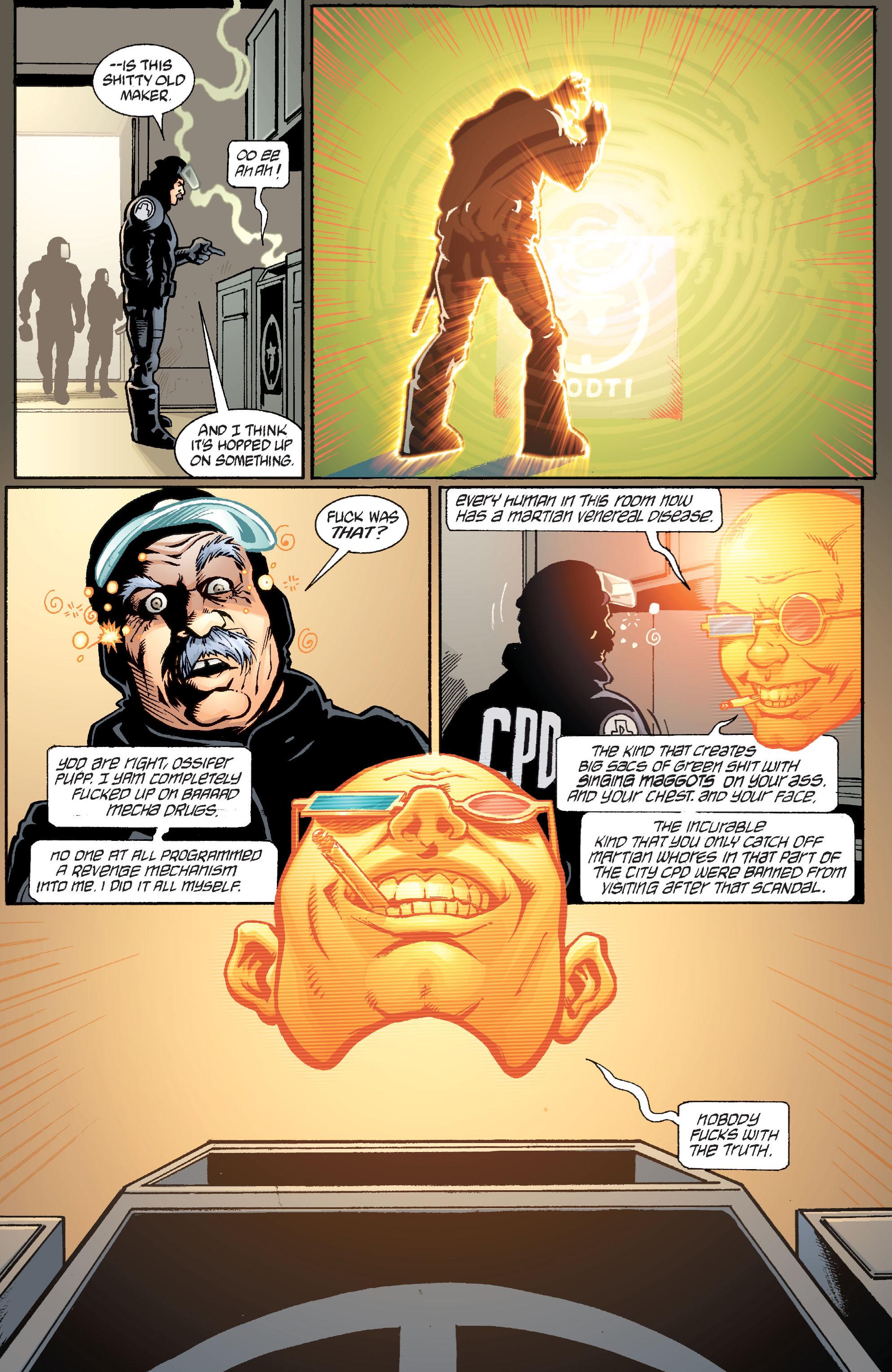 Read online Transmetropolitan comic -  Issue #36 - 22
