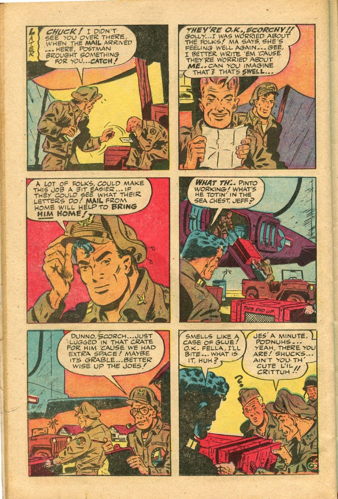 Read online Famous Funnies comic -  Issue #147 - 38