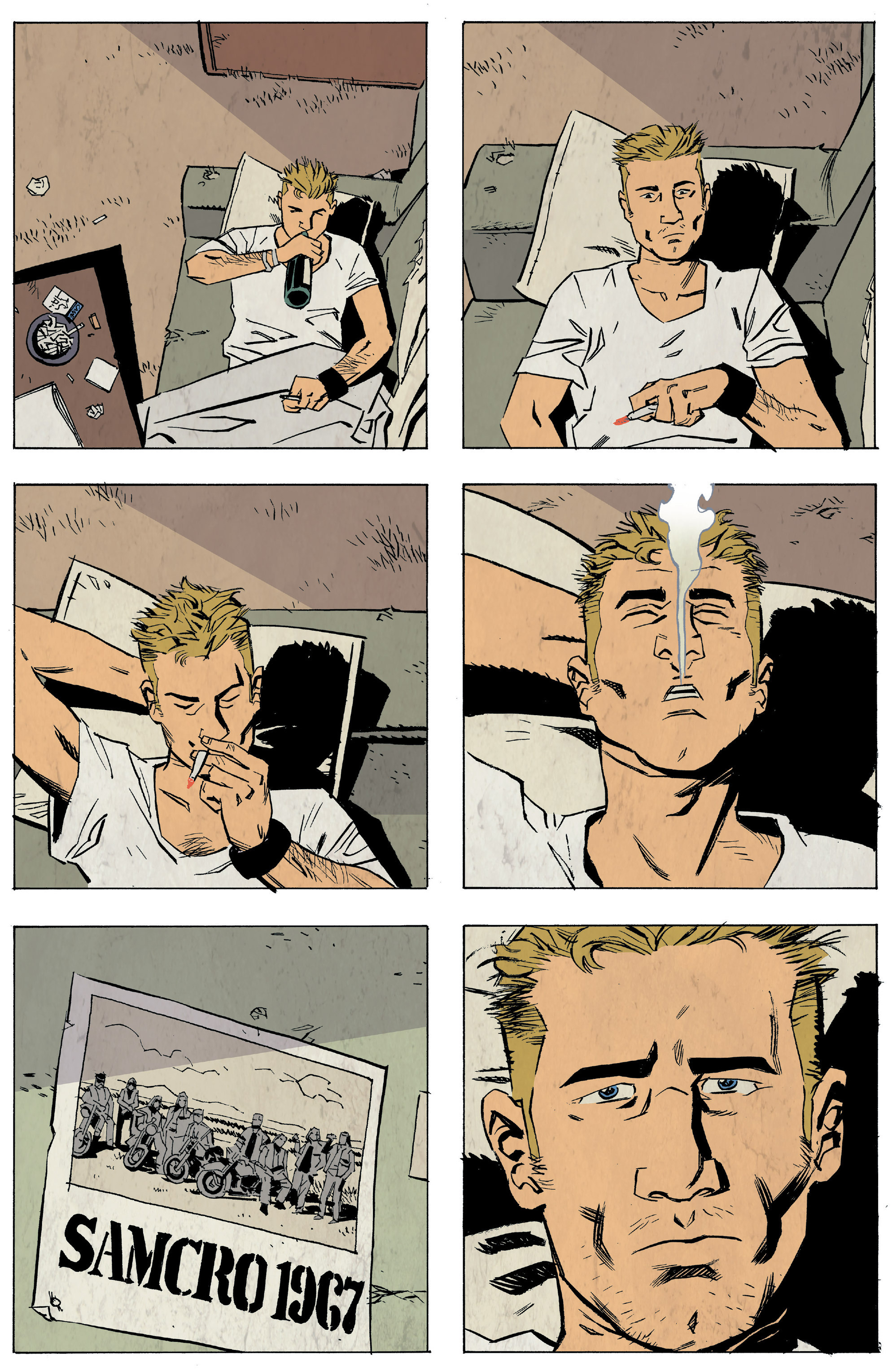 Read online Sons of Anarchy: Redwood Original comic -  Issue #5 - 8
