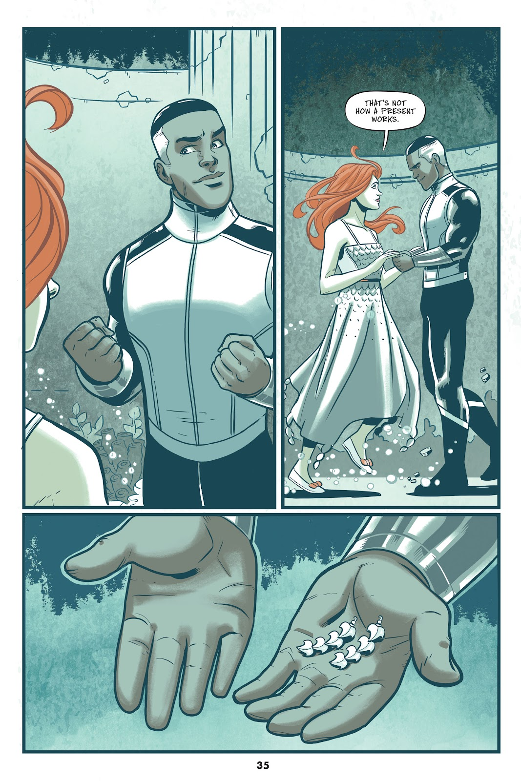 Read online Mera: Tidebreaker comic -  Issue # TPB (Part 1) - 35