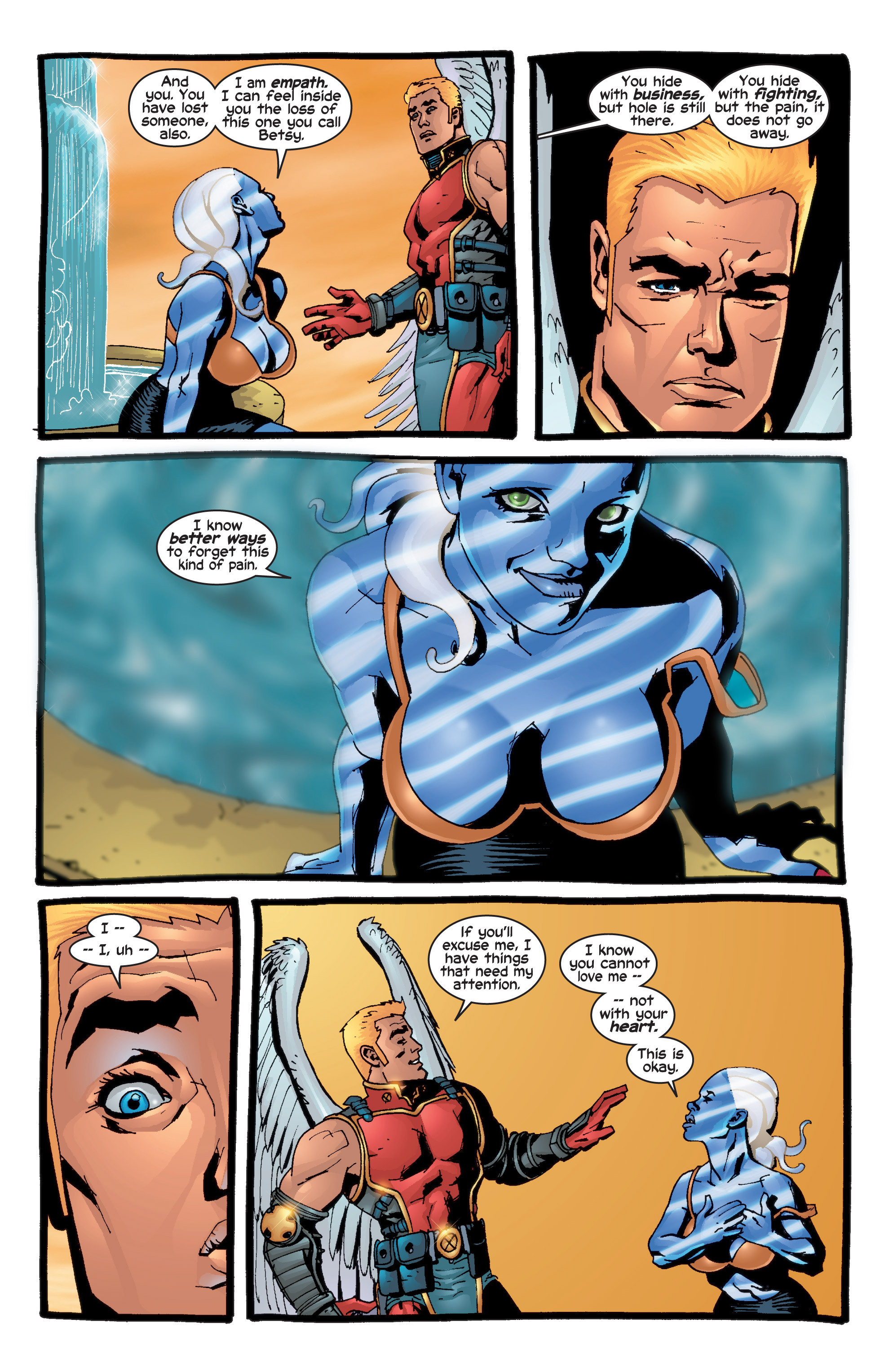Read online Uncanny X-Men (1963) comic -  Issue #415 - 6