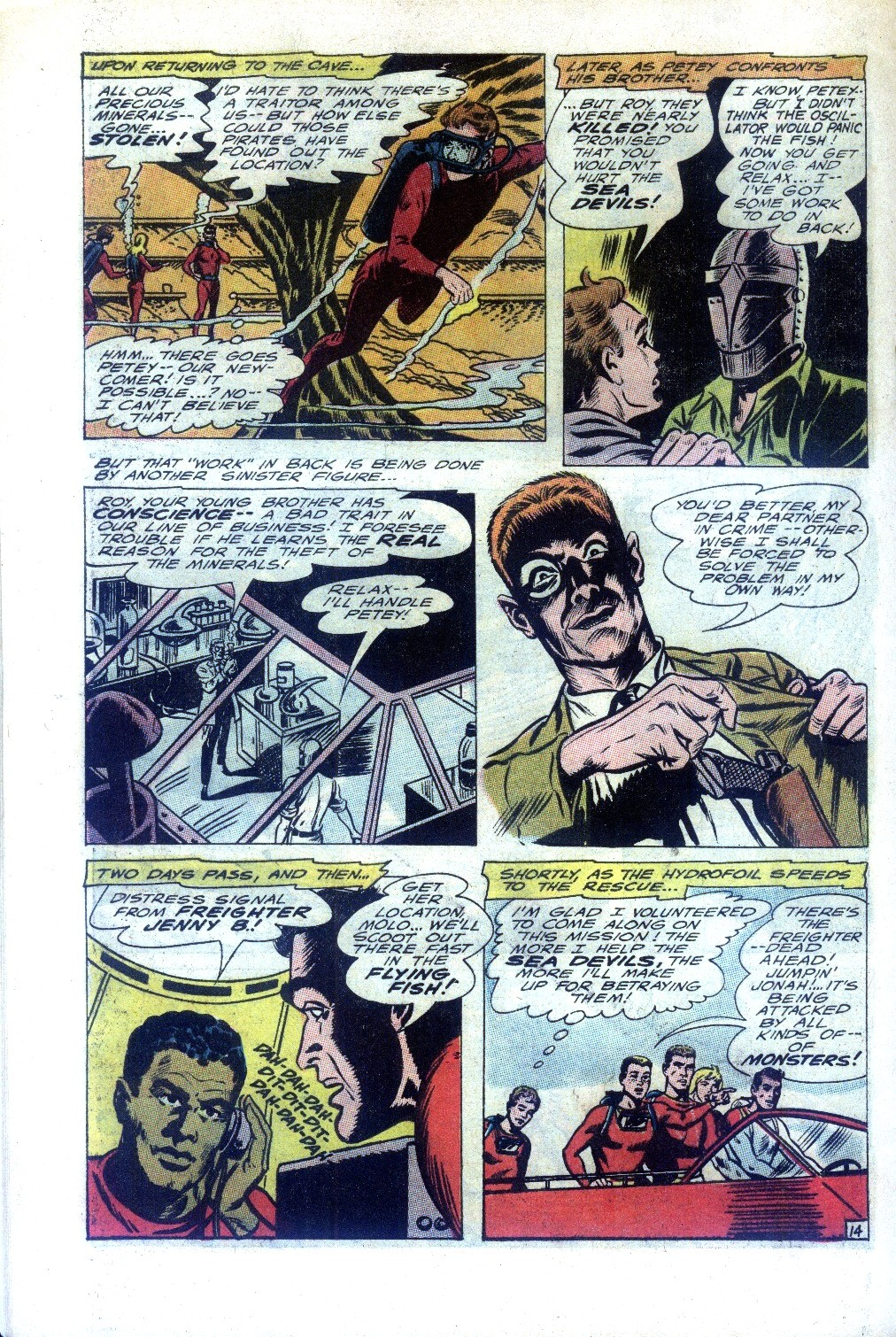 Read online Sea Devils comic -  Issue #27 - 19