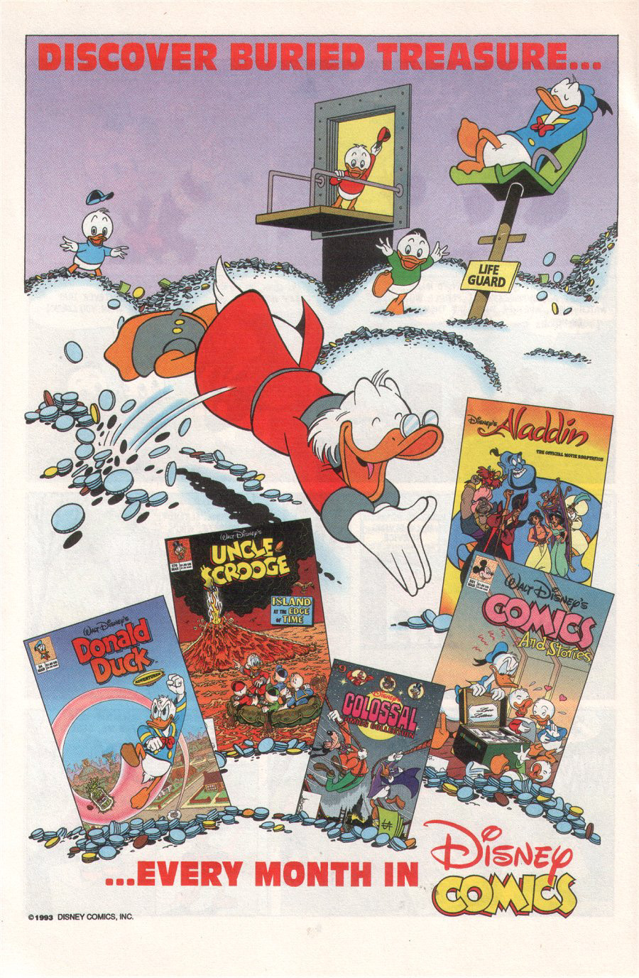 Read online Uncle Scrooge (1953) comic -  Issue #276 - 22