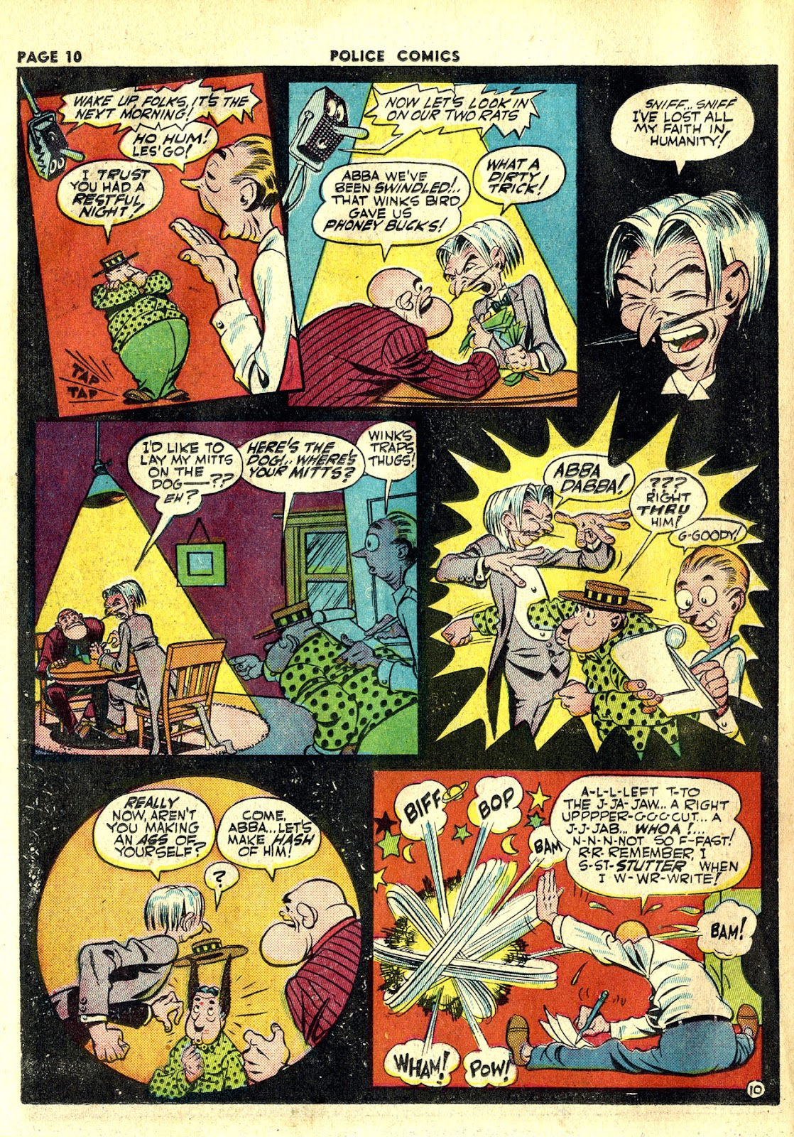 Police Comics issue 20 - Page 12