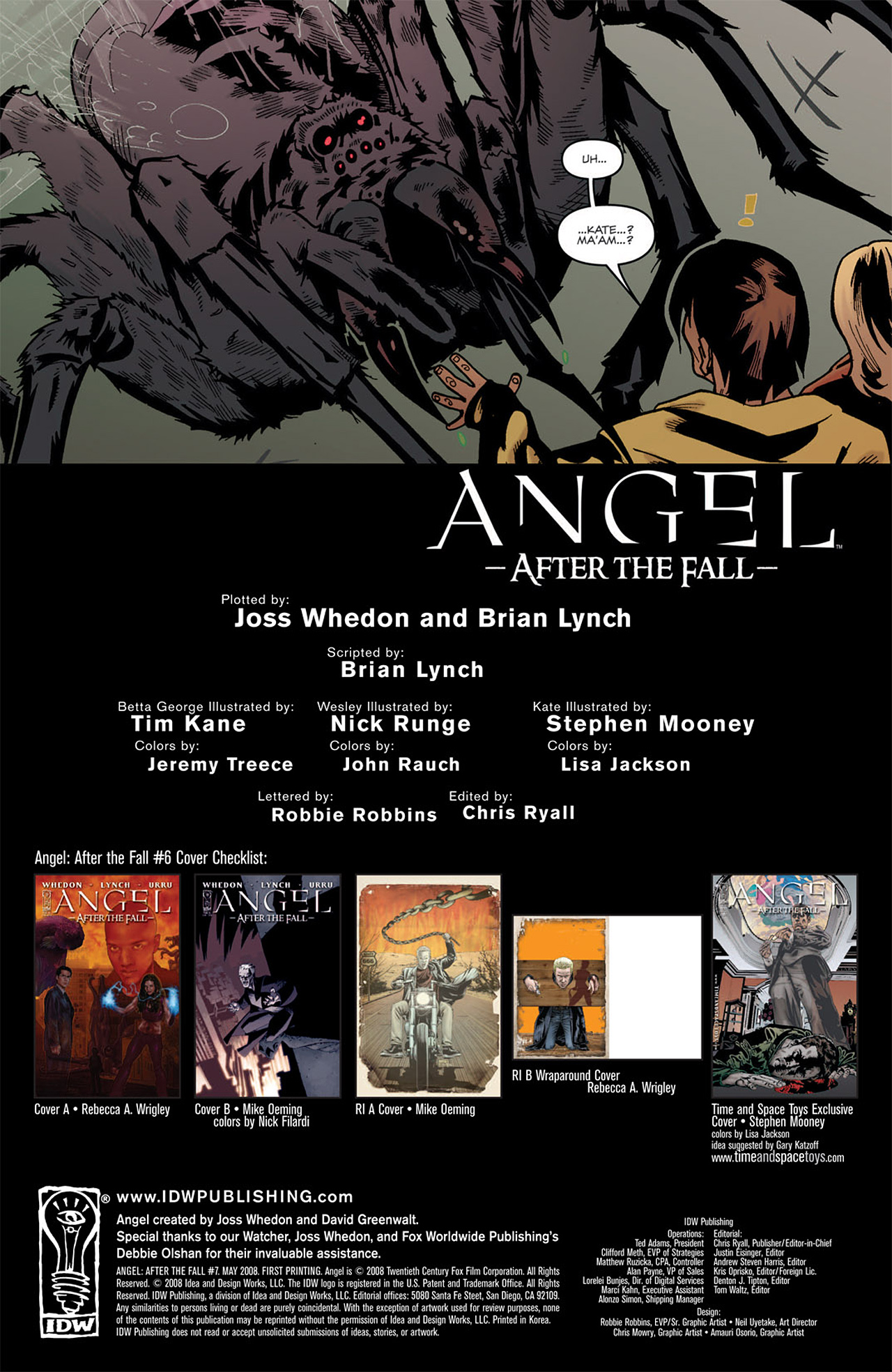 Read online Angel: After The Fall comic -  Issue #6 - 3