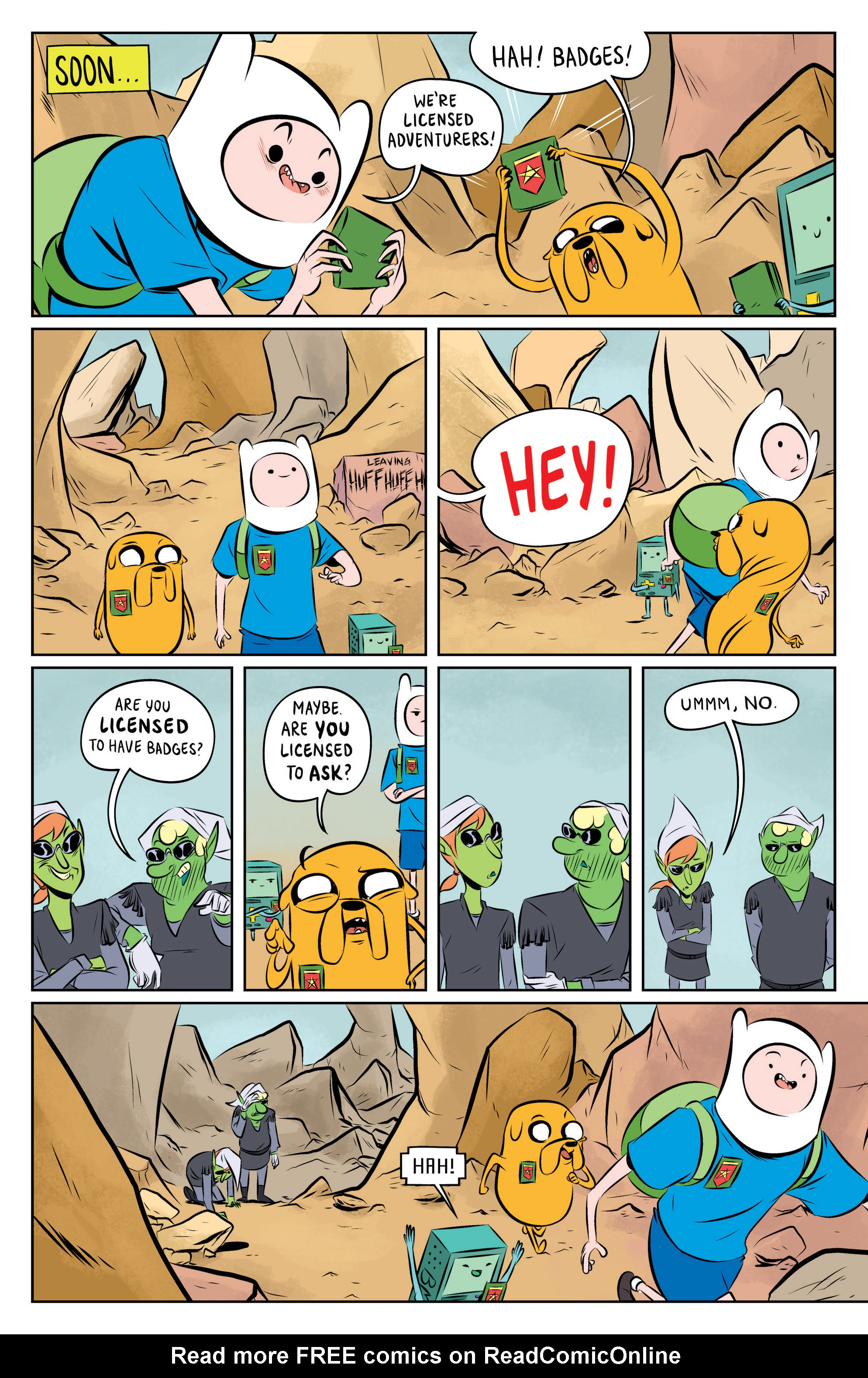 Read online Adventure Time: The Flip Side comic -  Issue #1 - 20