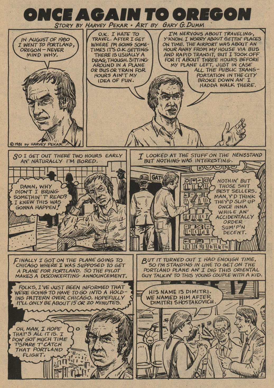 American Splendor (1976) issue 6 - Page 42
