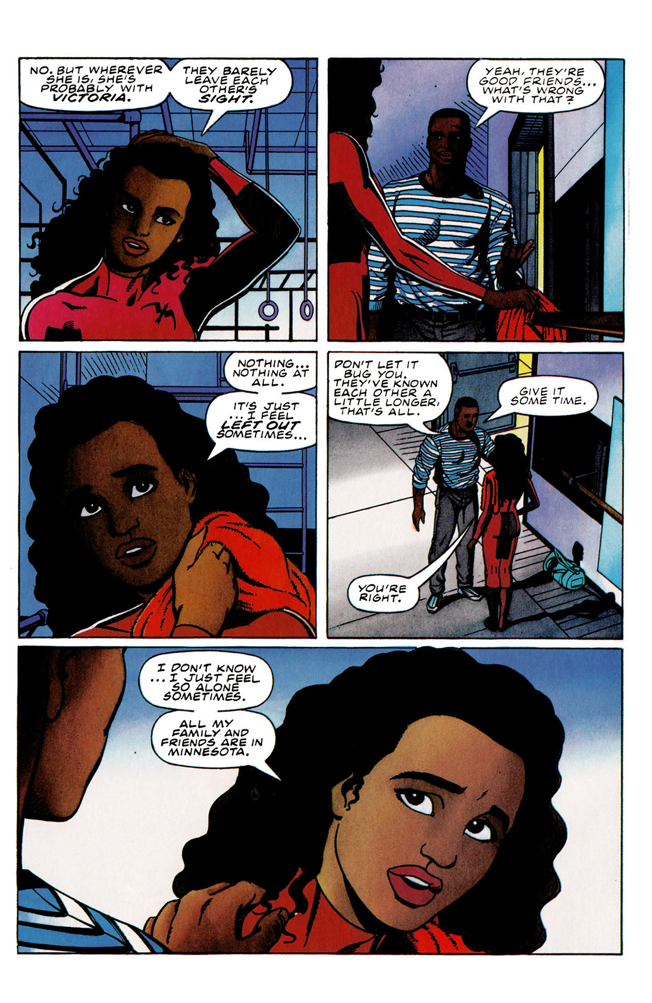 Read online Harbinger (1992) comic -  Issue #31 - 12