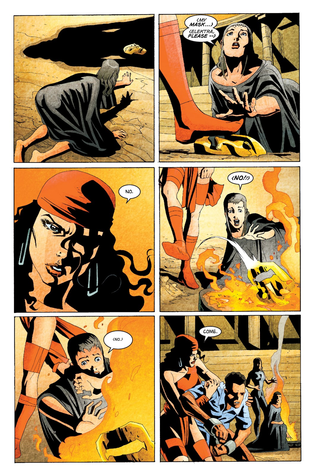 Read online Elektra (2001) comic -  Issue # _TPB Elektra by Greg Rucka Ultimate Collection (Part 1) - 72