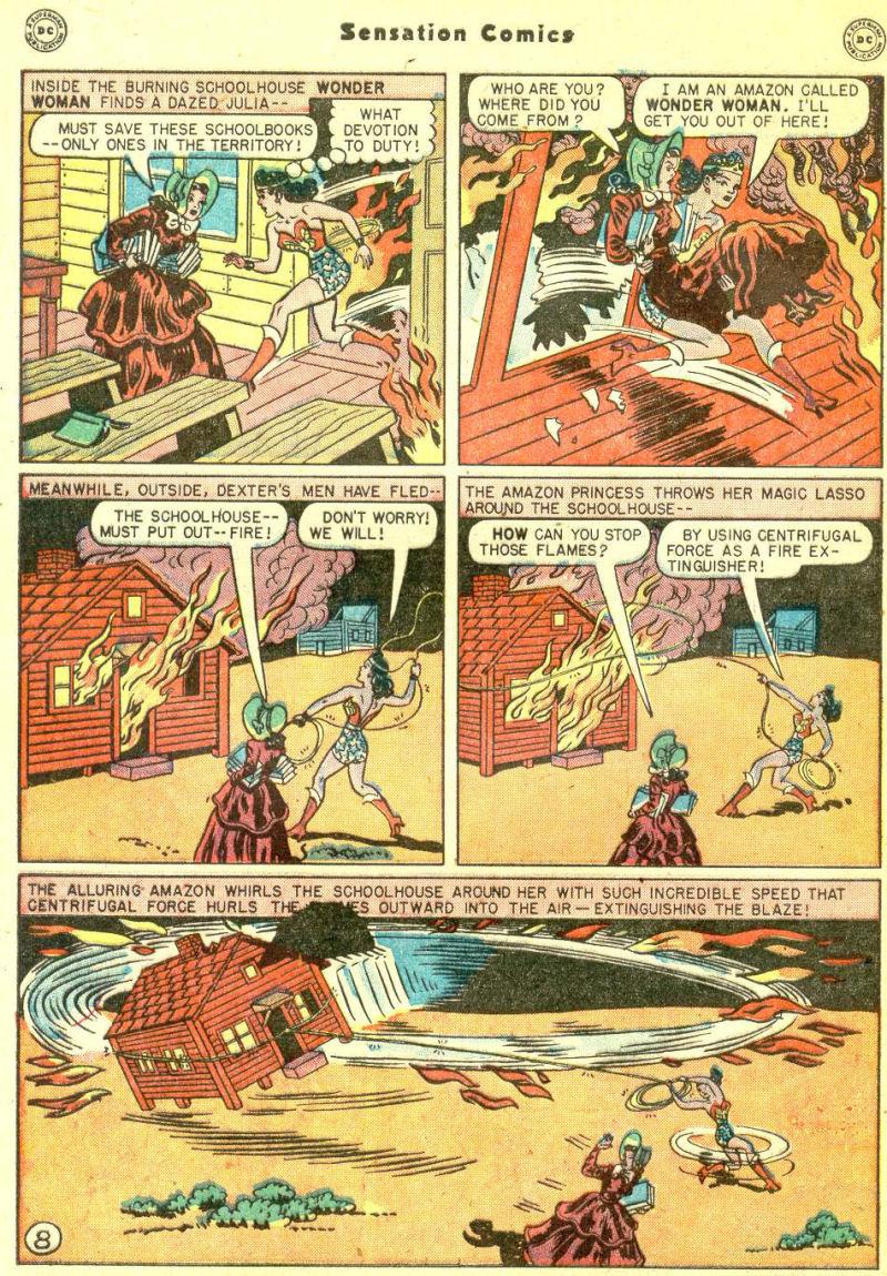 Read online Sensation (Mystery) Comics comic -  Issue #87 - 10