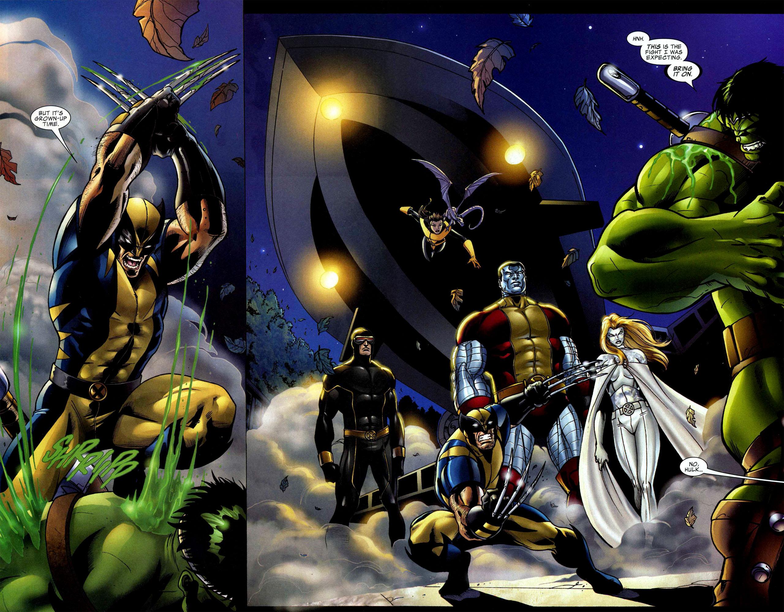 Read online World War Hulk: X-Men comic -  Issue #1 - 21