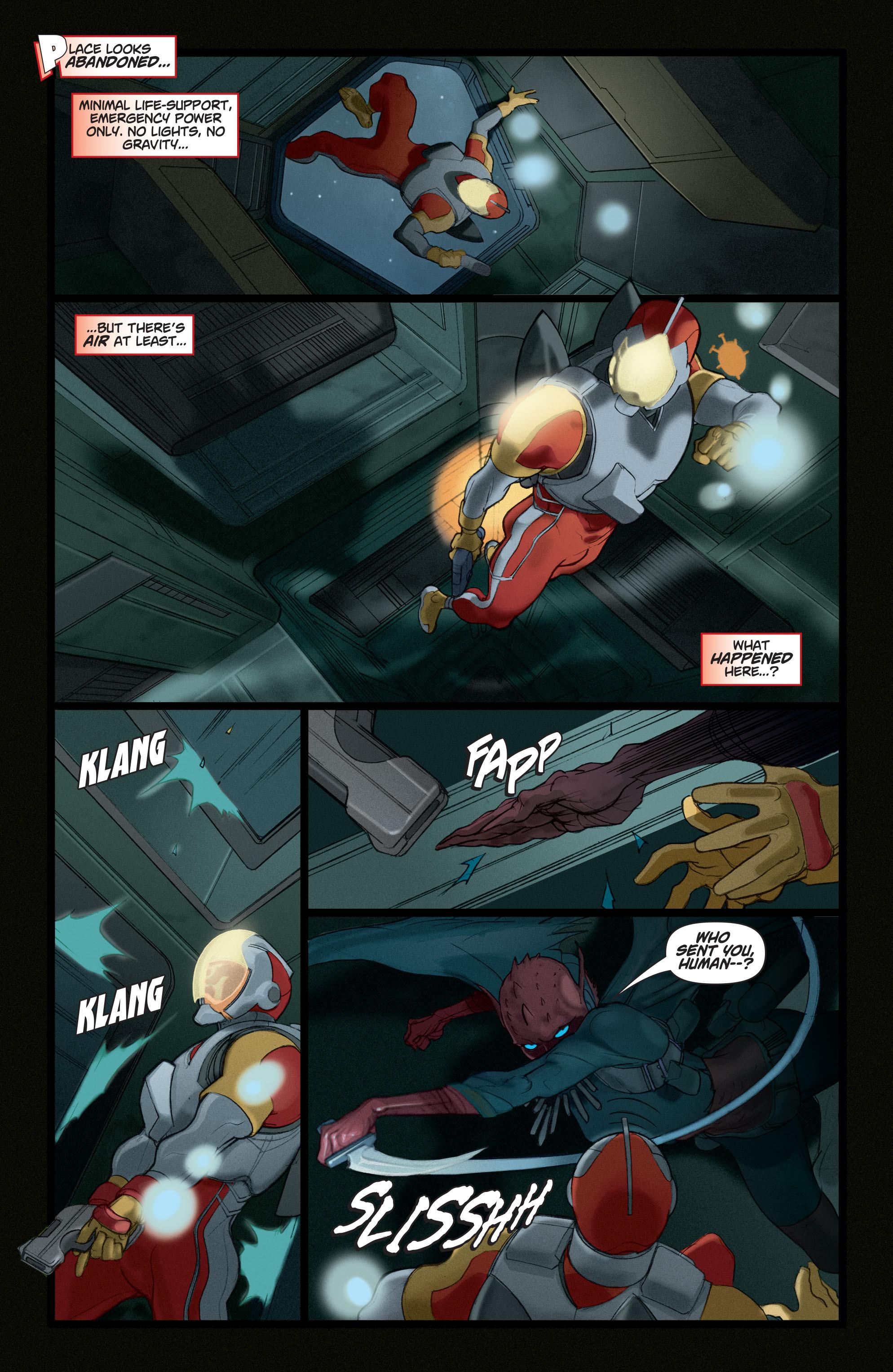 Read online Adam Strange (2004) comic -  Issue #4 - 8