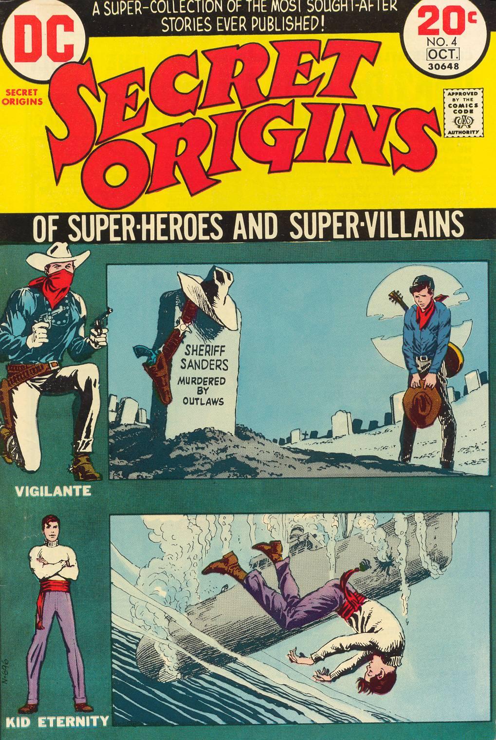 Read online Secret Origins (1973) comic -  Issue #4 - 1