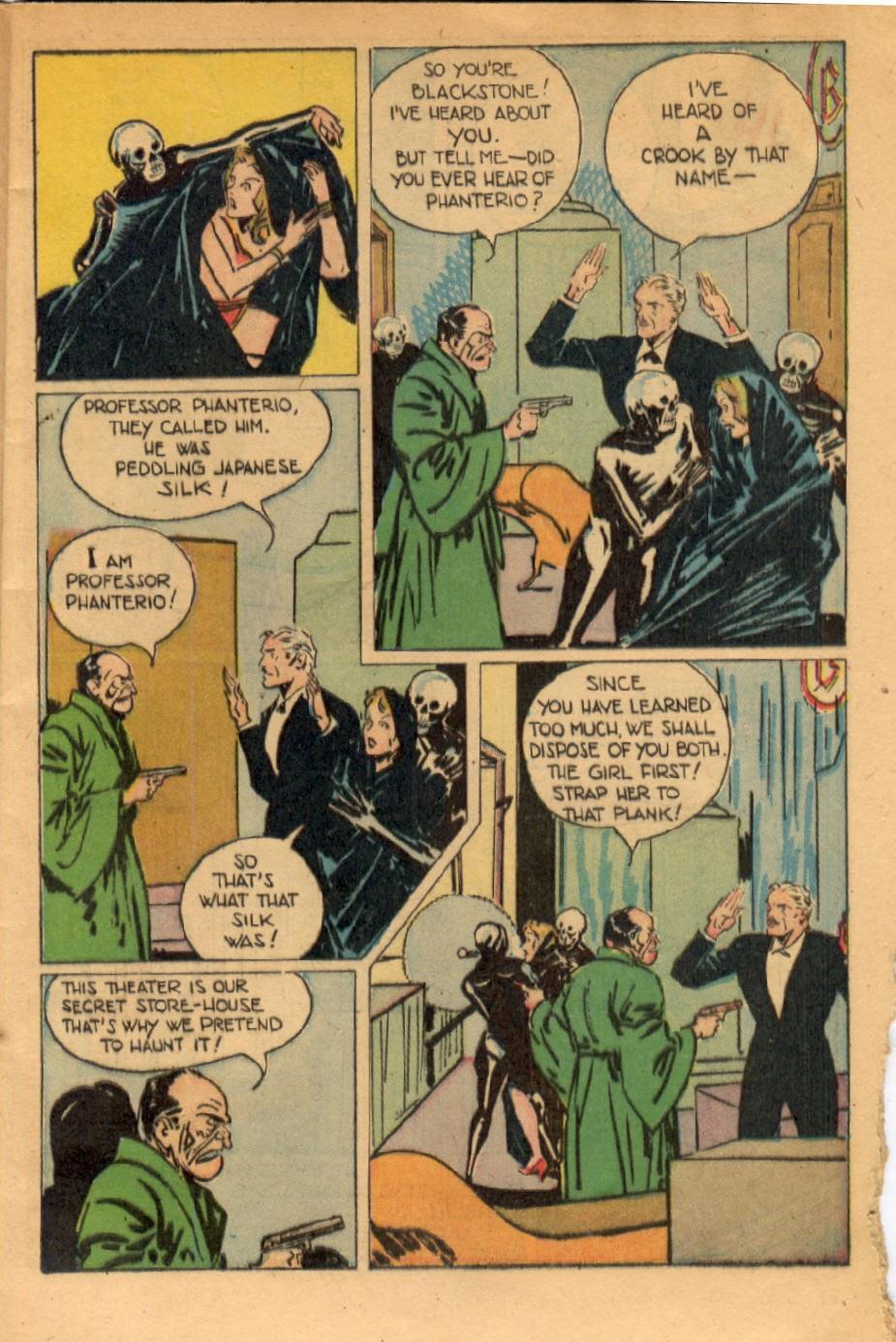 Read online Super-Magician Comics comic -  Issue #43 - 11