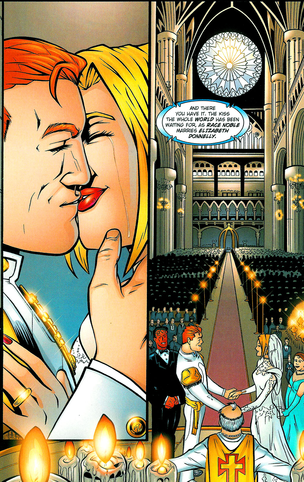 Read online Noble Causes (2002) comic -  Issue #1 - 4