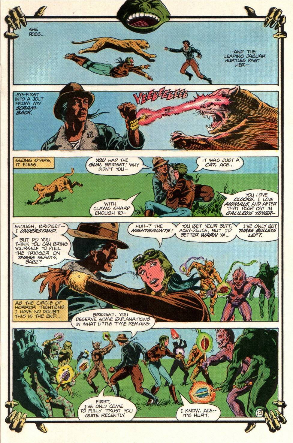Read online Aztec Ace comic -  Issue #11 - 12