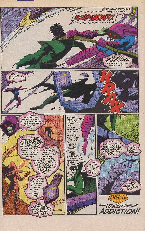 Read online Sleepwalker comic -  Issue #12 - 23