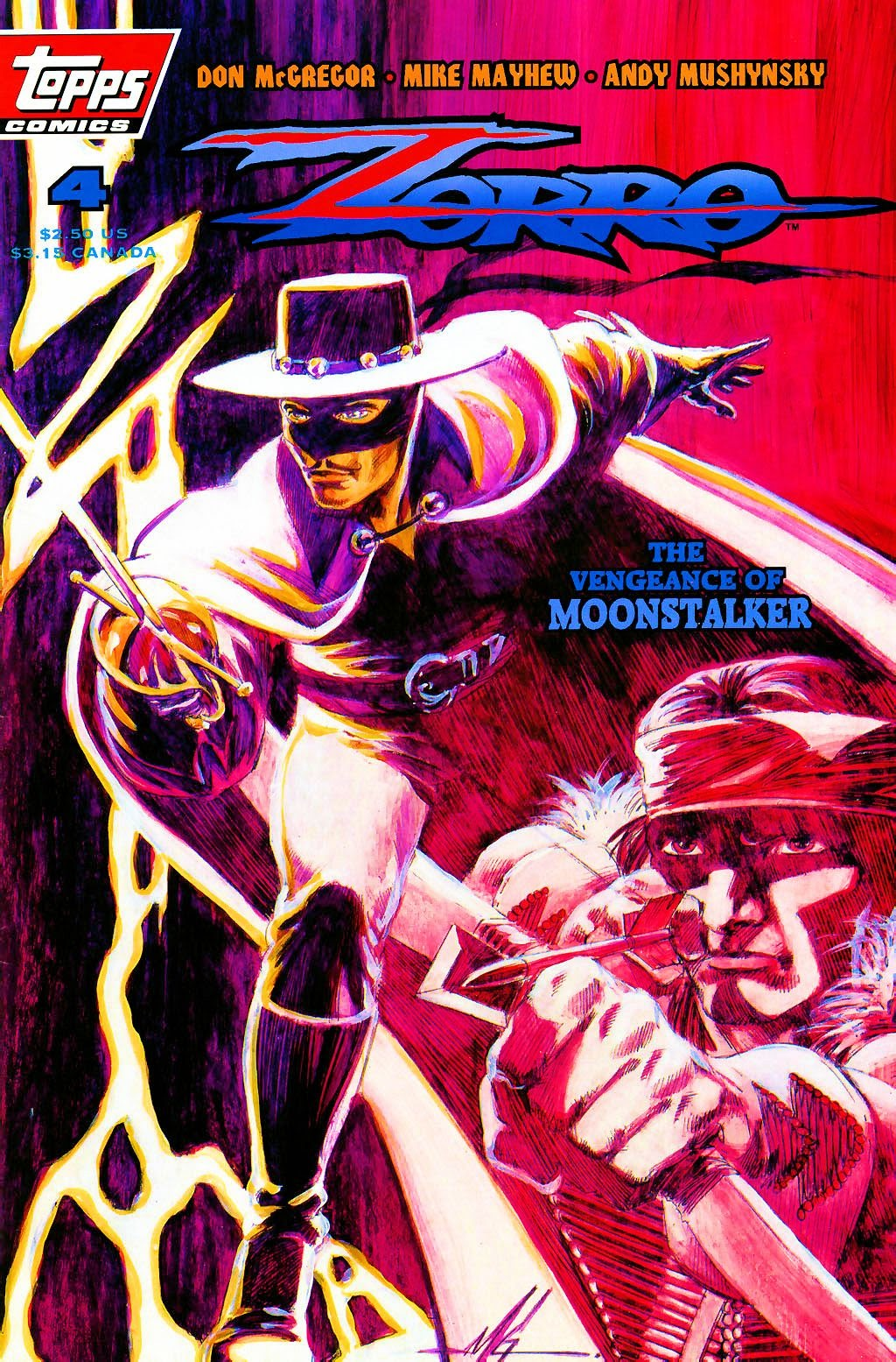 Zorro (1993) 4 Page 1