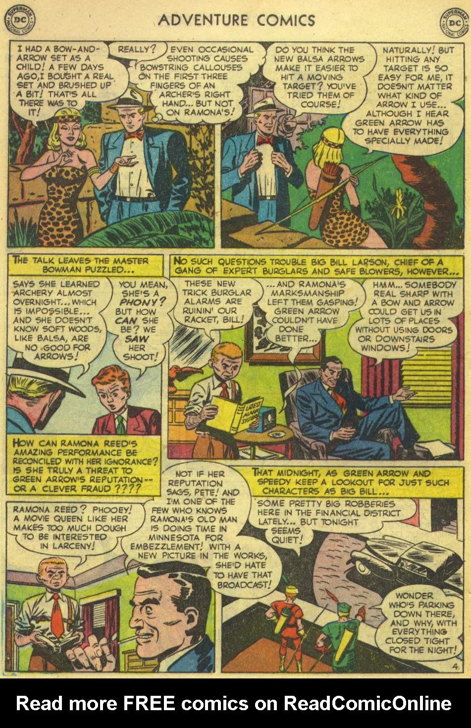 Read online Adventure Comics (1938) comic -  Issue #167 - 42