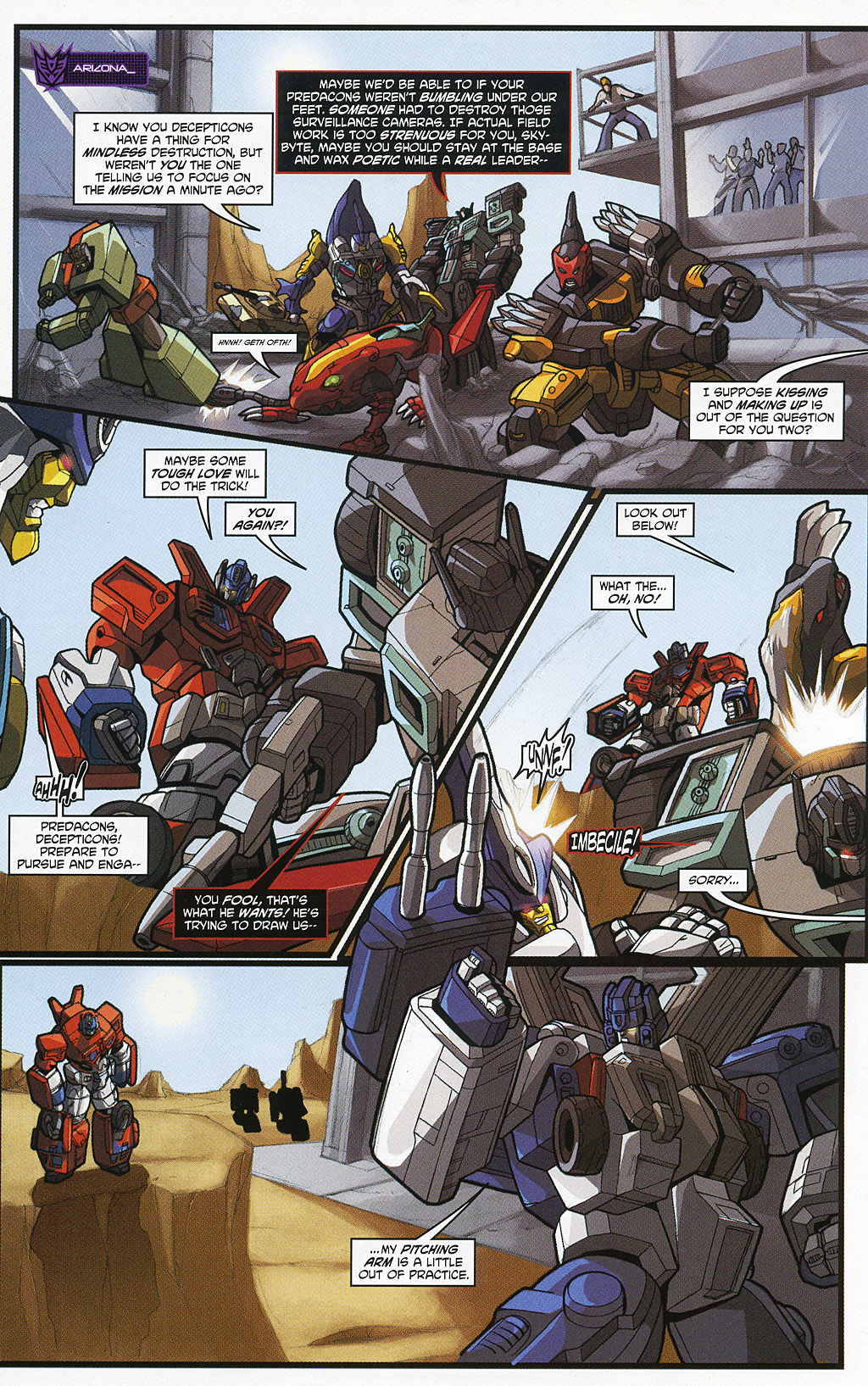 Read online Transformers 20th Anniversary Summer Special comic -  Issue # Full - 25
