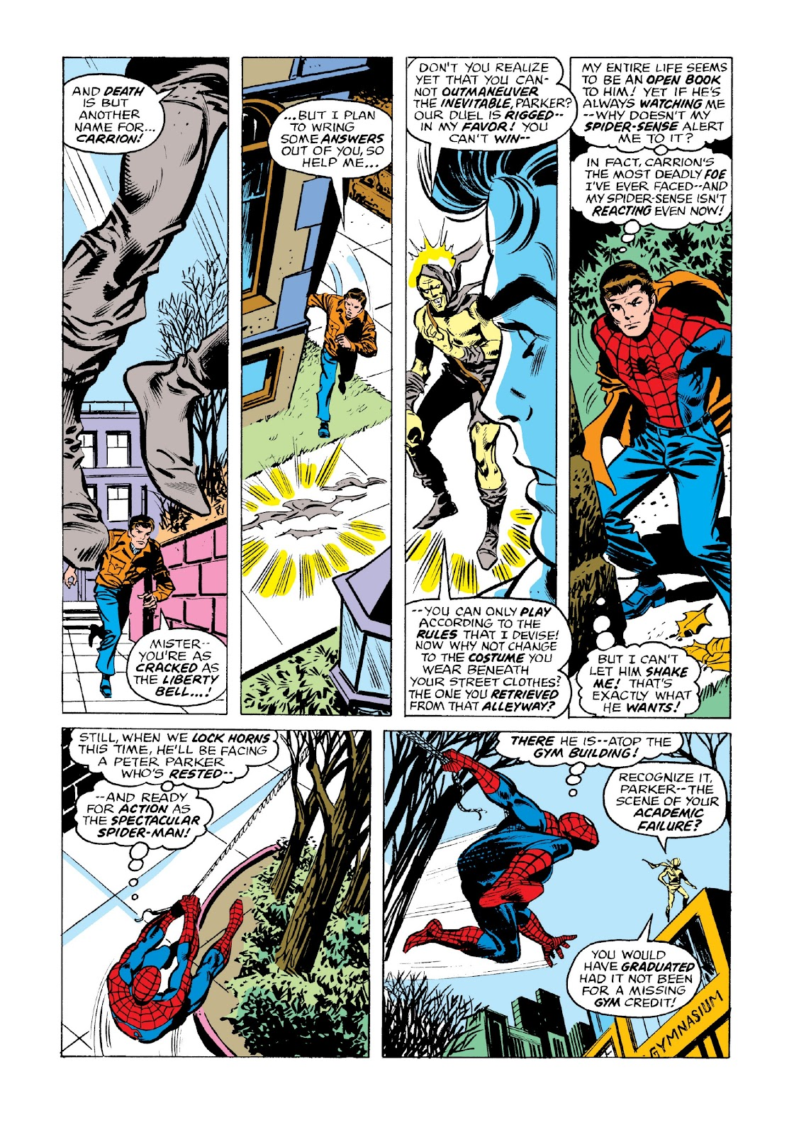 Read online Marvel Masterworks: The Spectacular Spider-Man comic -  Issue # TPB 2 (Part 3) - 58
