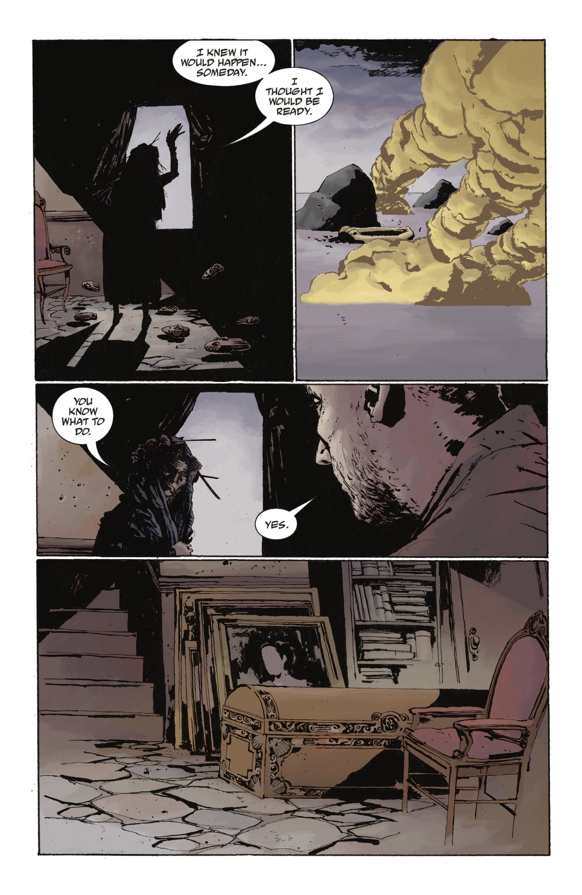 Read online Abe Sapien: The Drowning comic -  Issue #Abe Sapien: The Drowning _TPB - 40