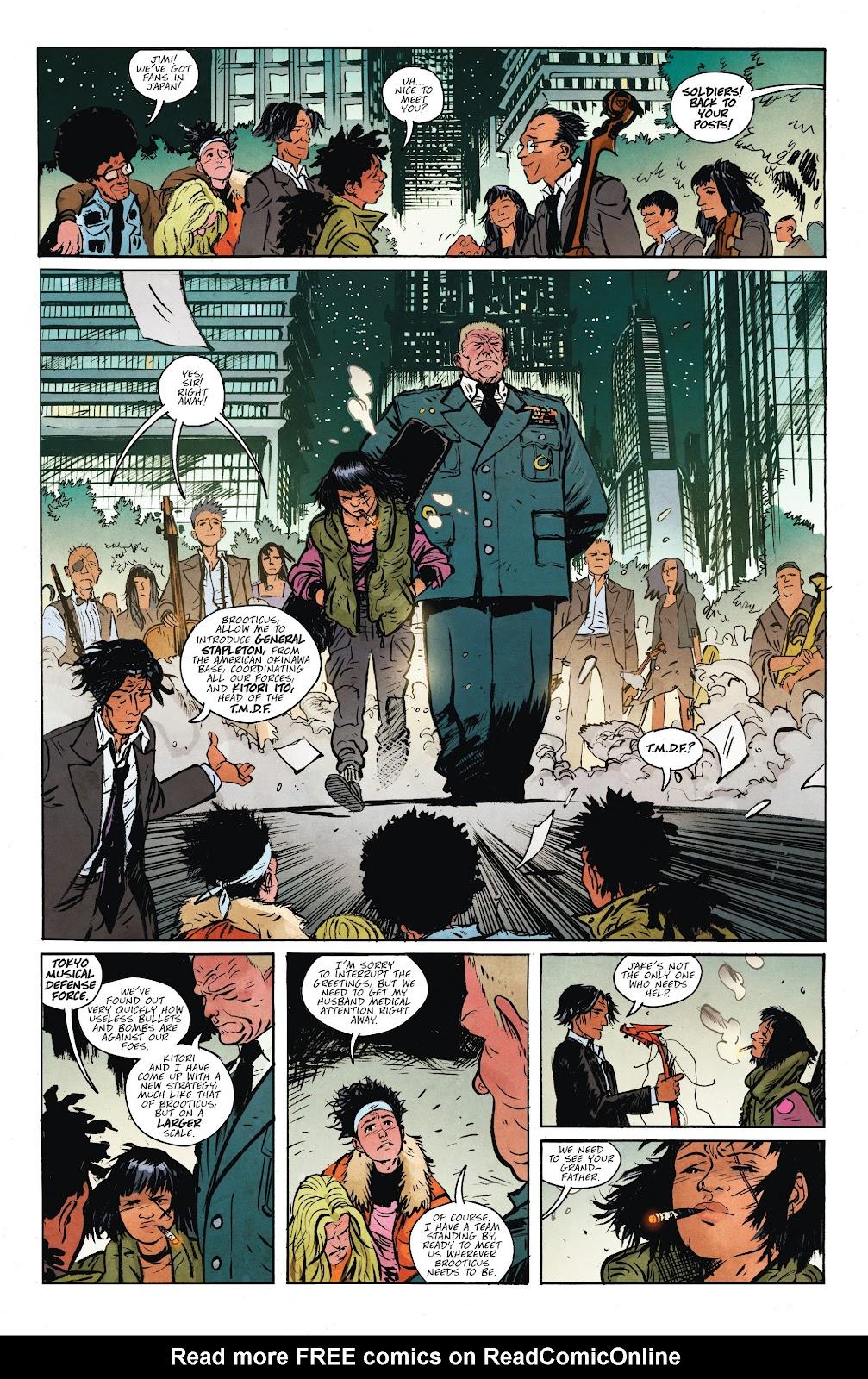 Read online Murder Falcon comic -  Issue #7 - 6