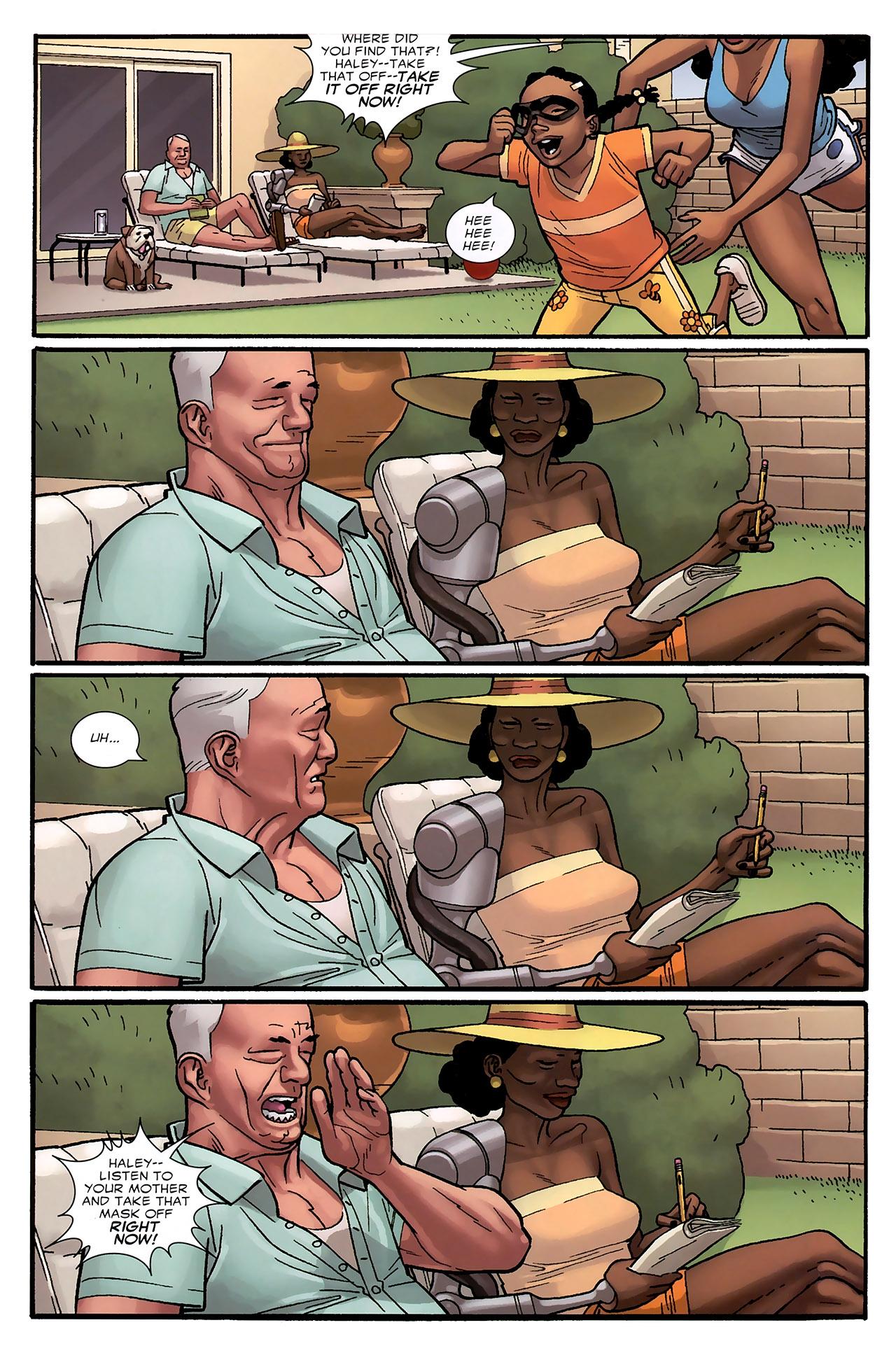 Read online Destroyer comic -  Issue #5 - 21