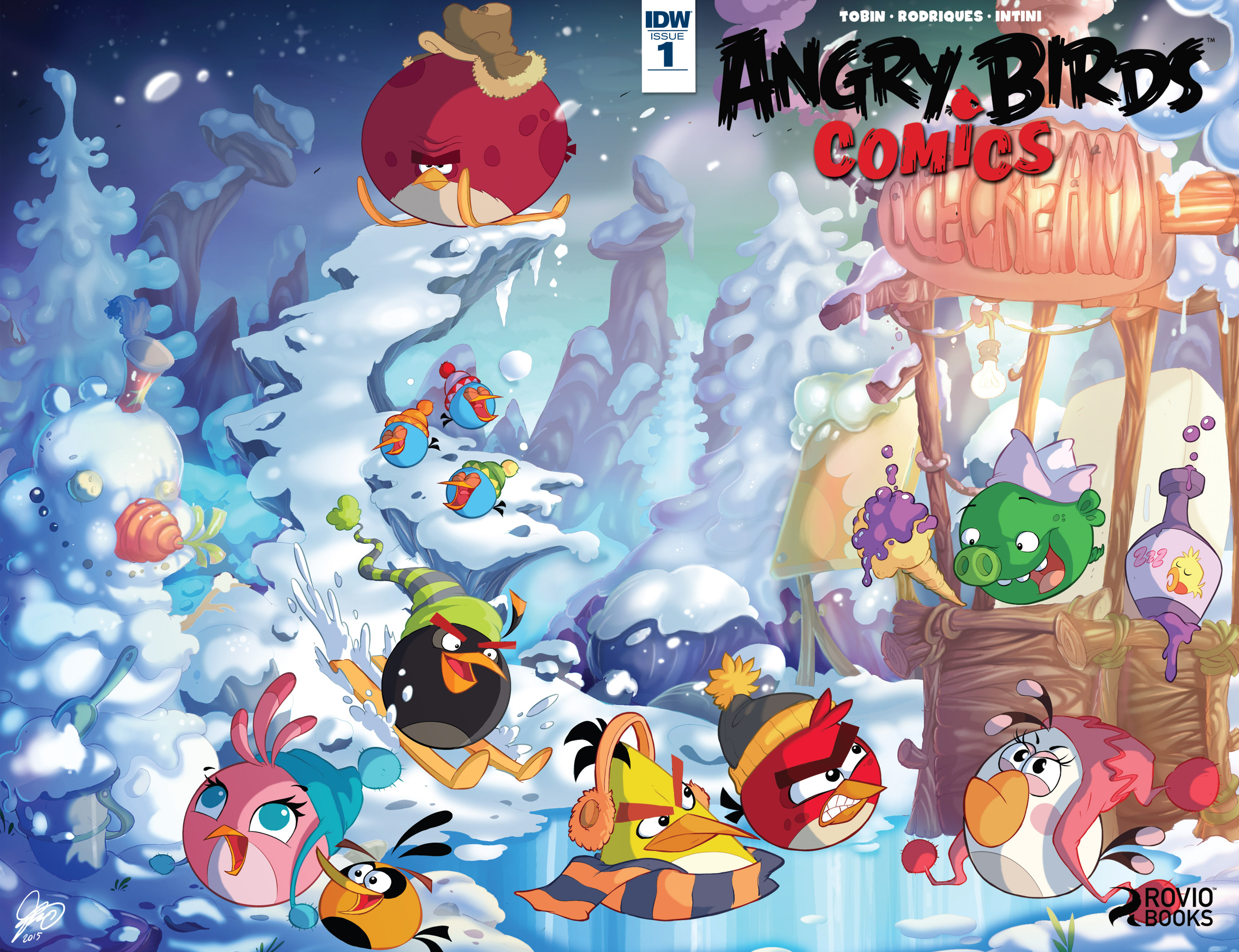 Read online Angry Birds Comics (2016) comic -  Issue #1 - 1