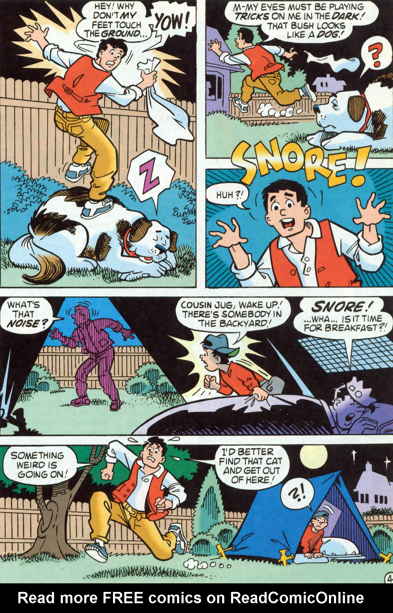 Read online Archie (1960) comic -  Issue #465 - 12