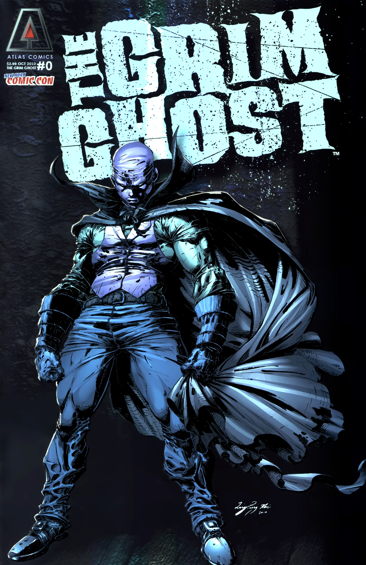 Read online The Grim Ghost comic -  Issue #0 - 1