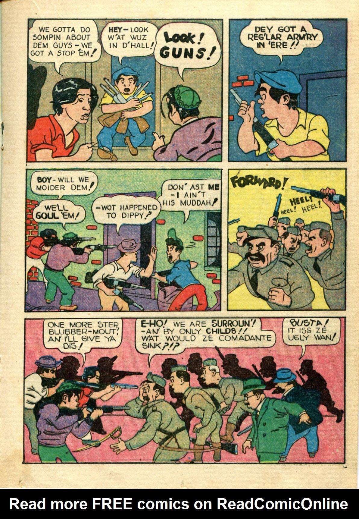 Read online Shadow Comics comic -  Issue #10 - 33