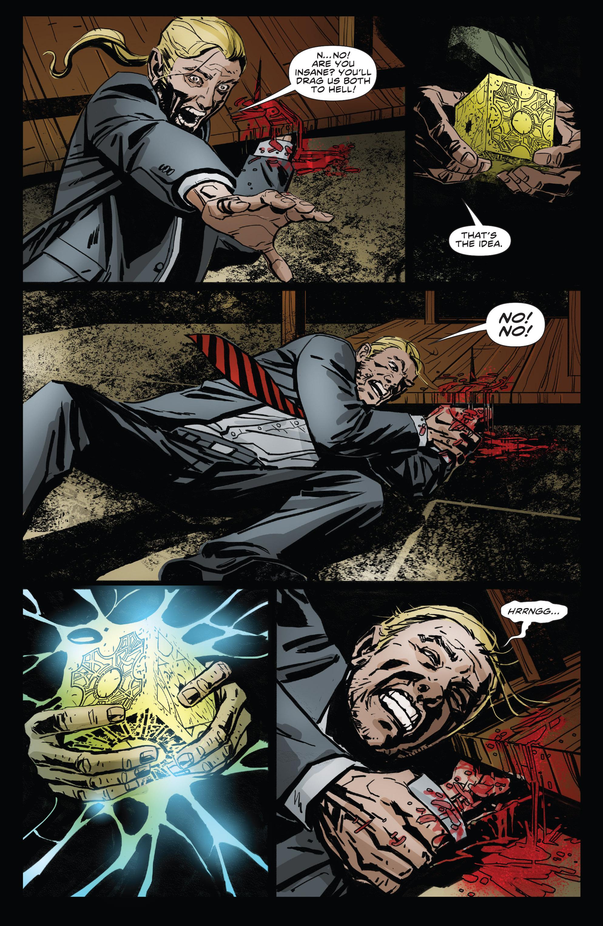 Read online Clive Barker's Hellraiser: The Dark Watch comic -  Issue # TPB 3 - 21