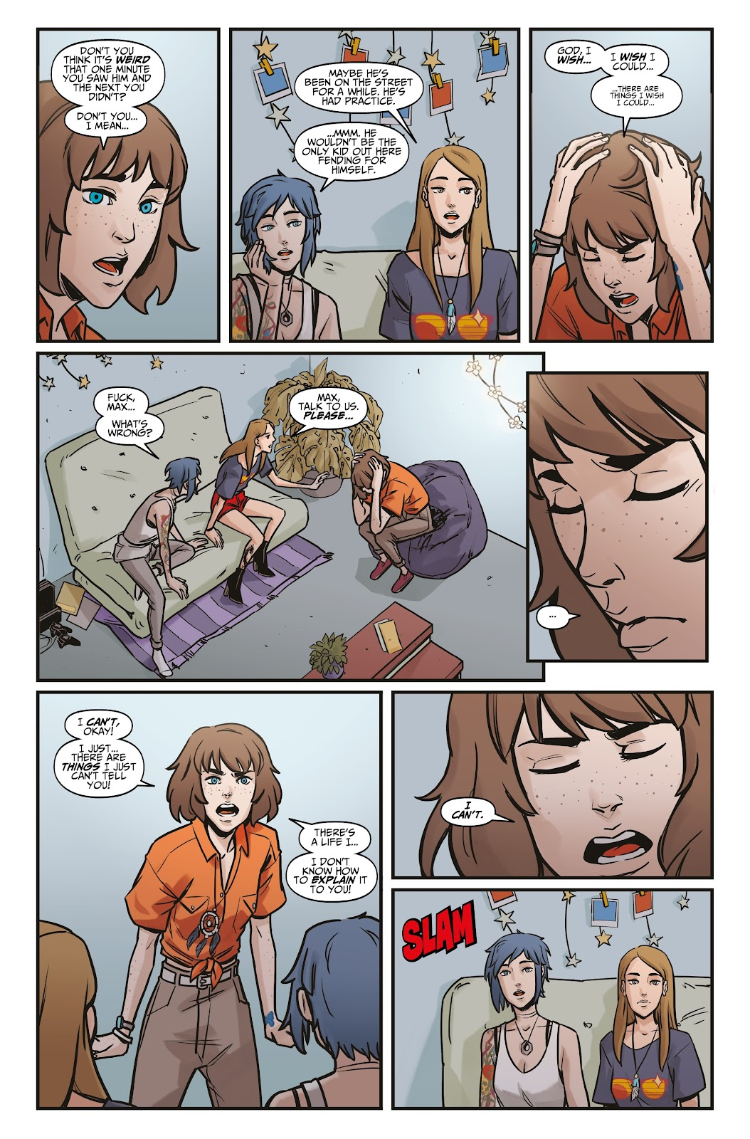 Read online Life is Strange comic -  Issue #6 - 19
