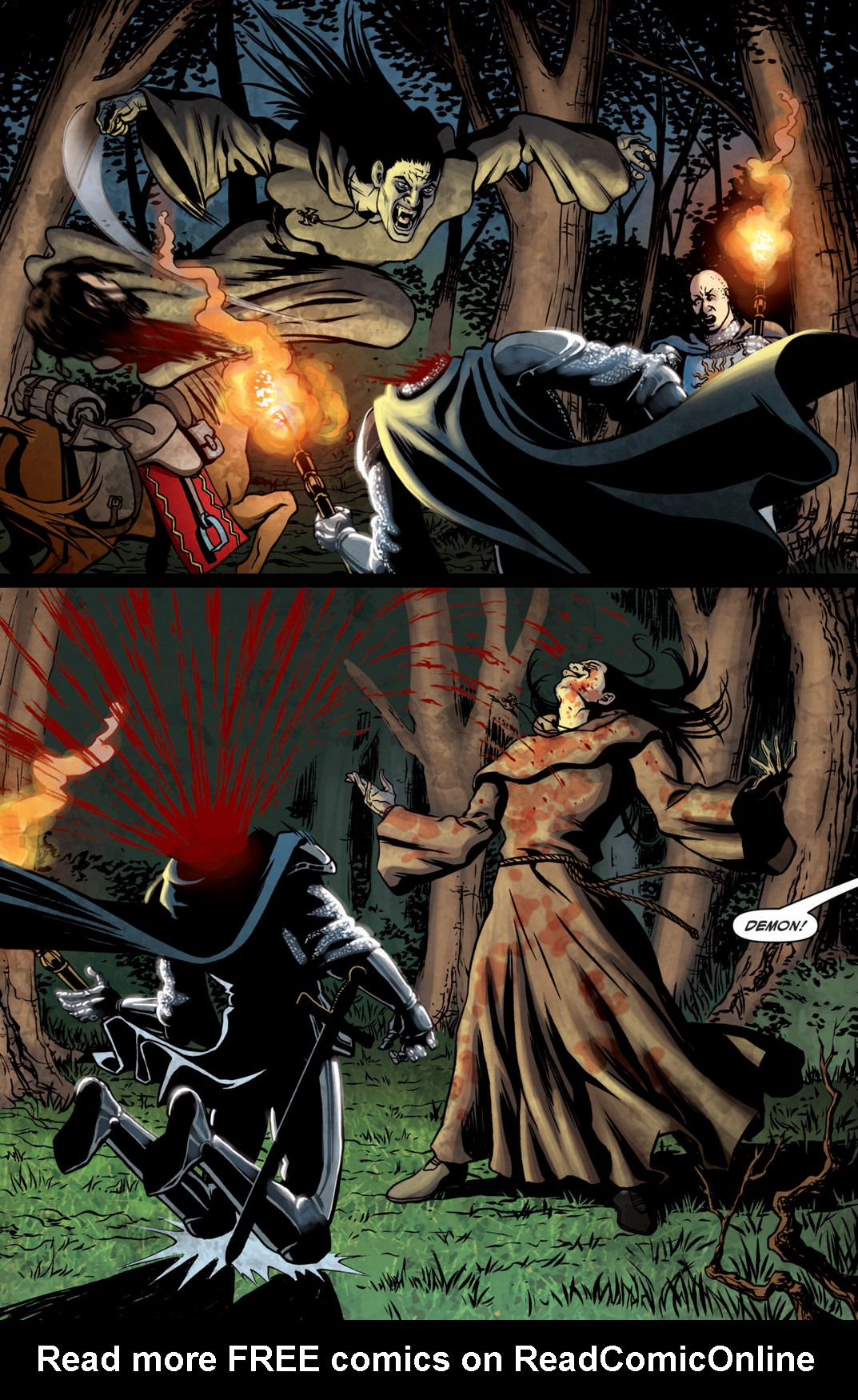 Read online True Blood (2012) comic -  Issue #5 - 8