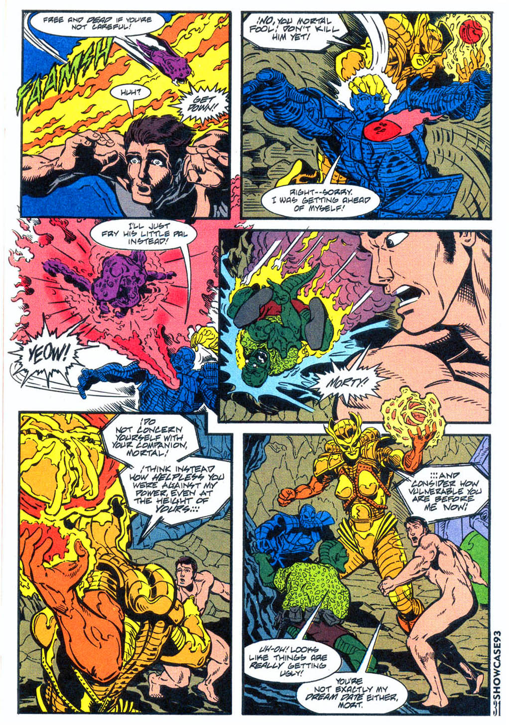 Read online Showcase '93 comic -  Issue #4 - 28