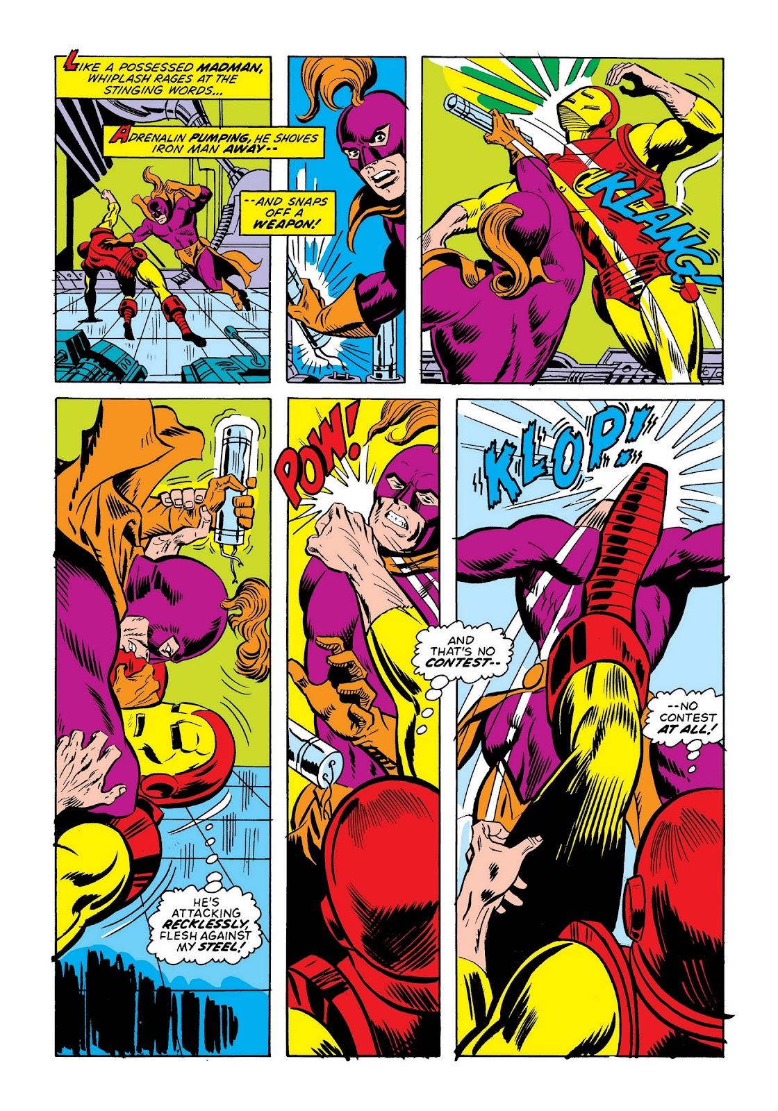 Read online Marvel Masterworks: The Invincible Iron Man comic -  Issue # TPB 9 (Part 2) - 90