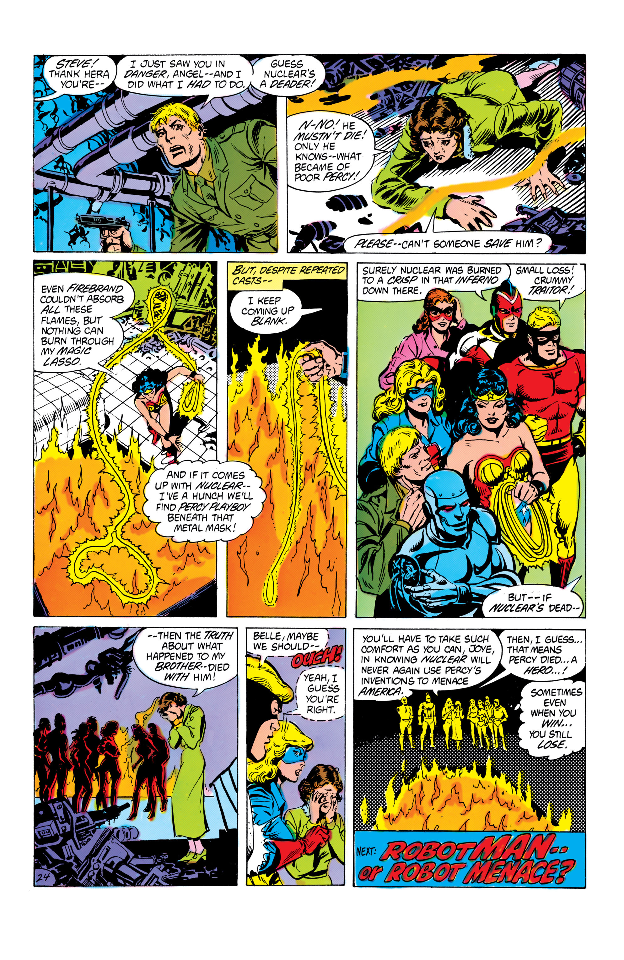Read online All-Star Squadron comic -  Issue #16 - 25