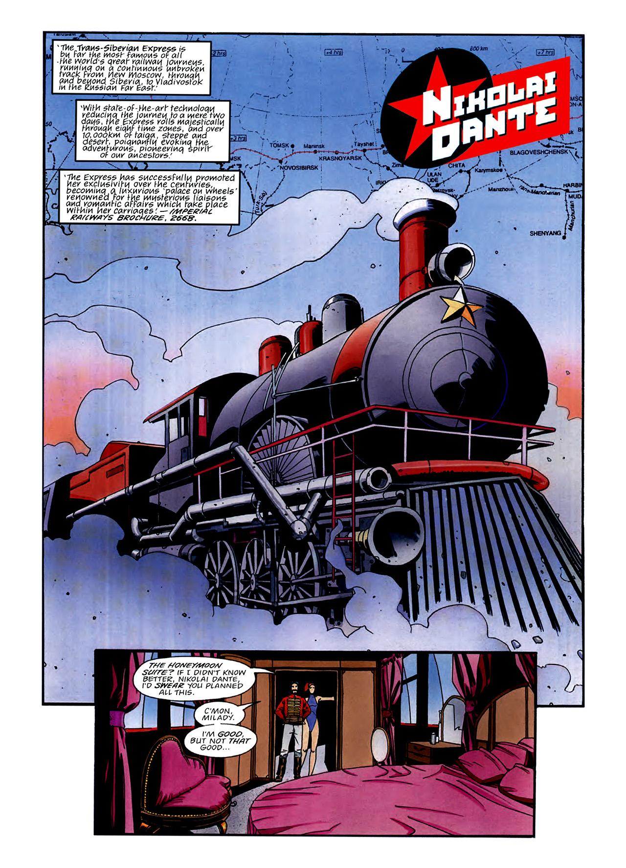 Read online Nikolai Dante comic -  Issue # TPB 3 - 27