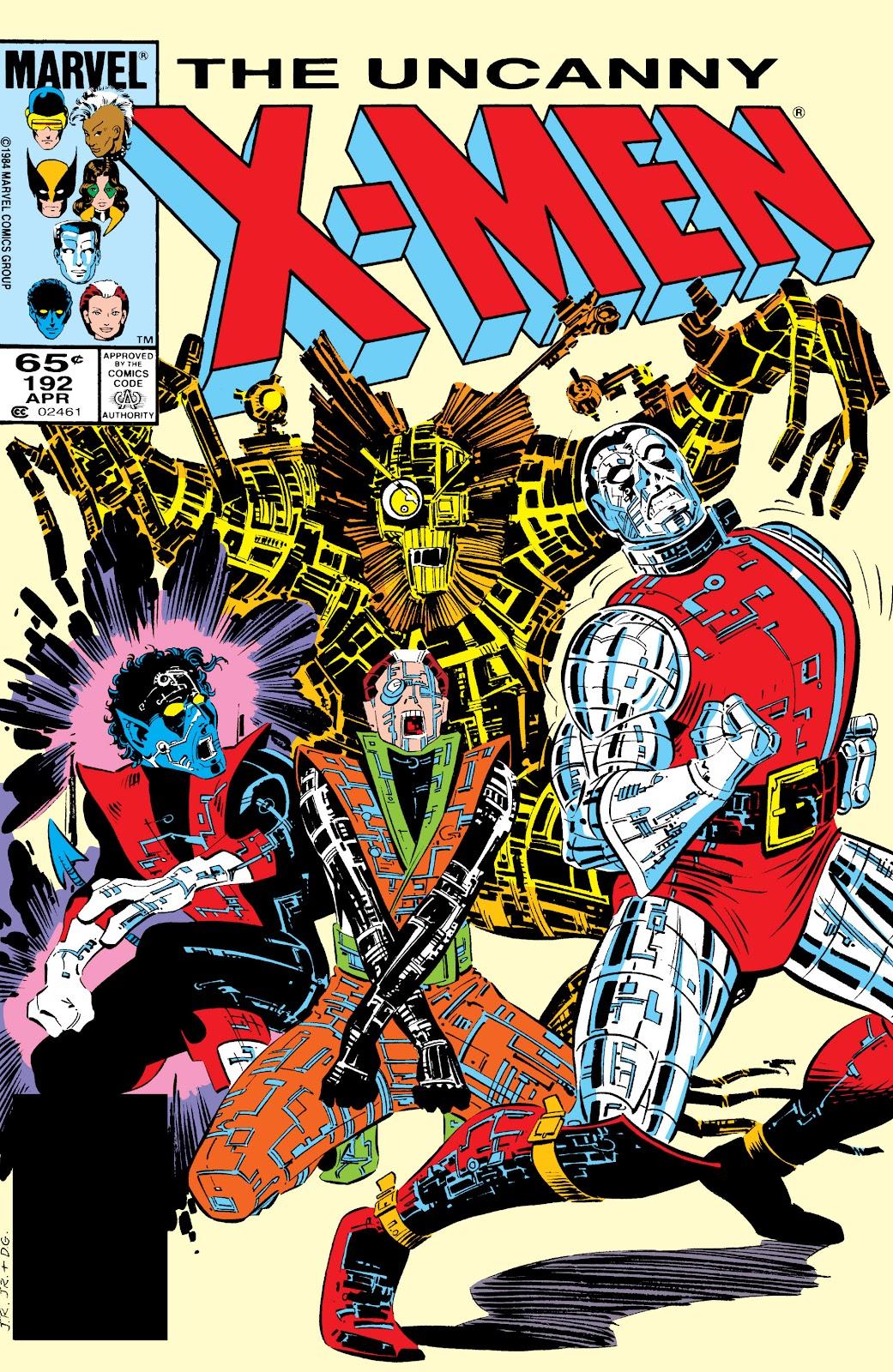 Uncanny X-Men (1963) 192 Page 1