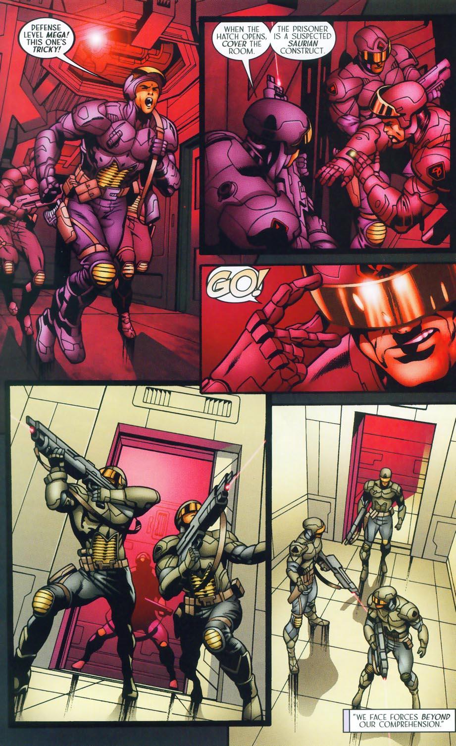 Read online Sigil (2000) comic -  Issue #38 - 17