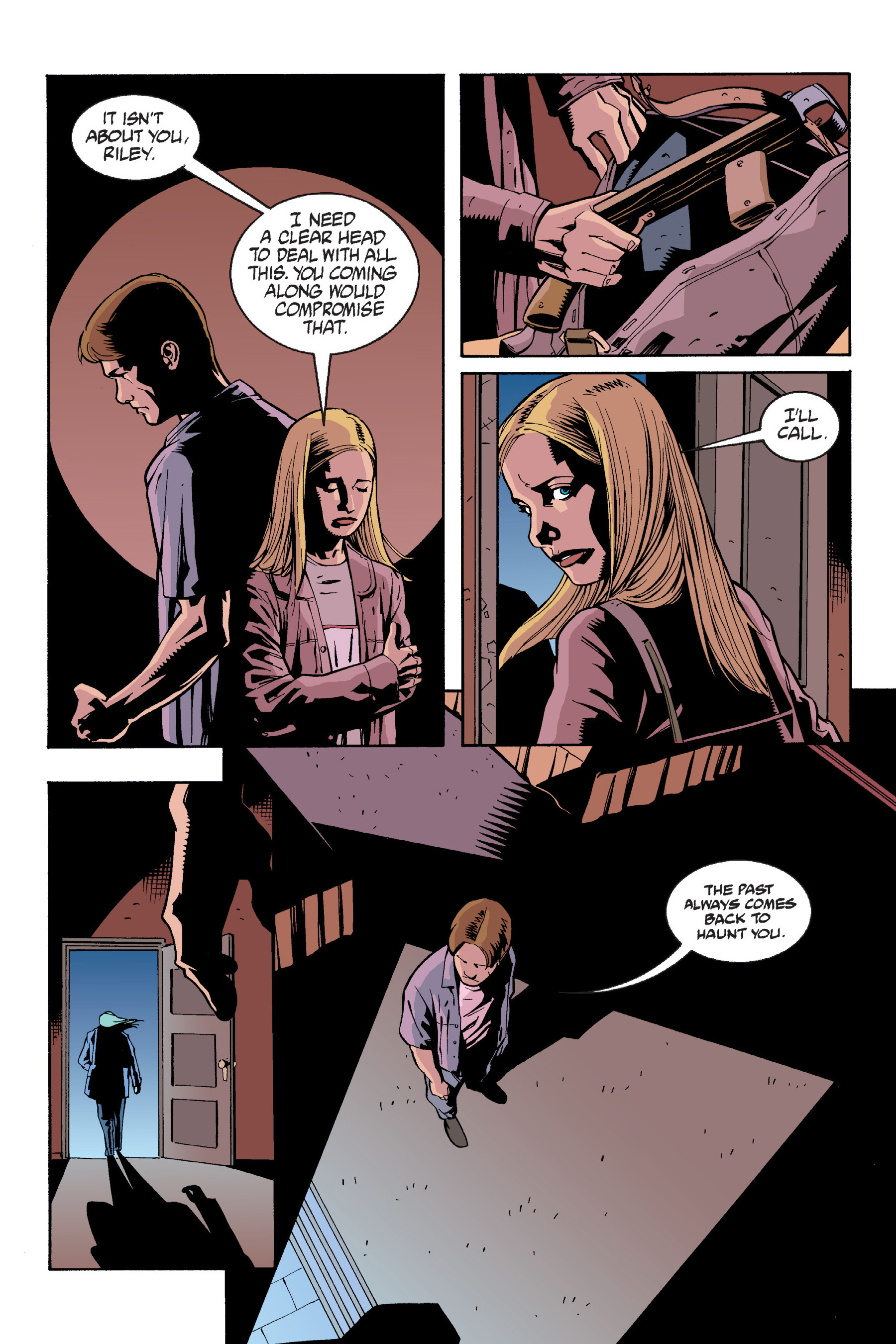 Read online Buffy the Vampire Slayer: Omnibus comic -  Issue # TPB 6 - 126