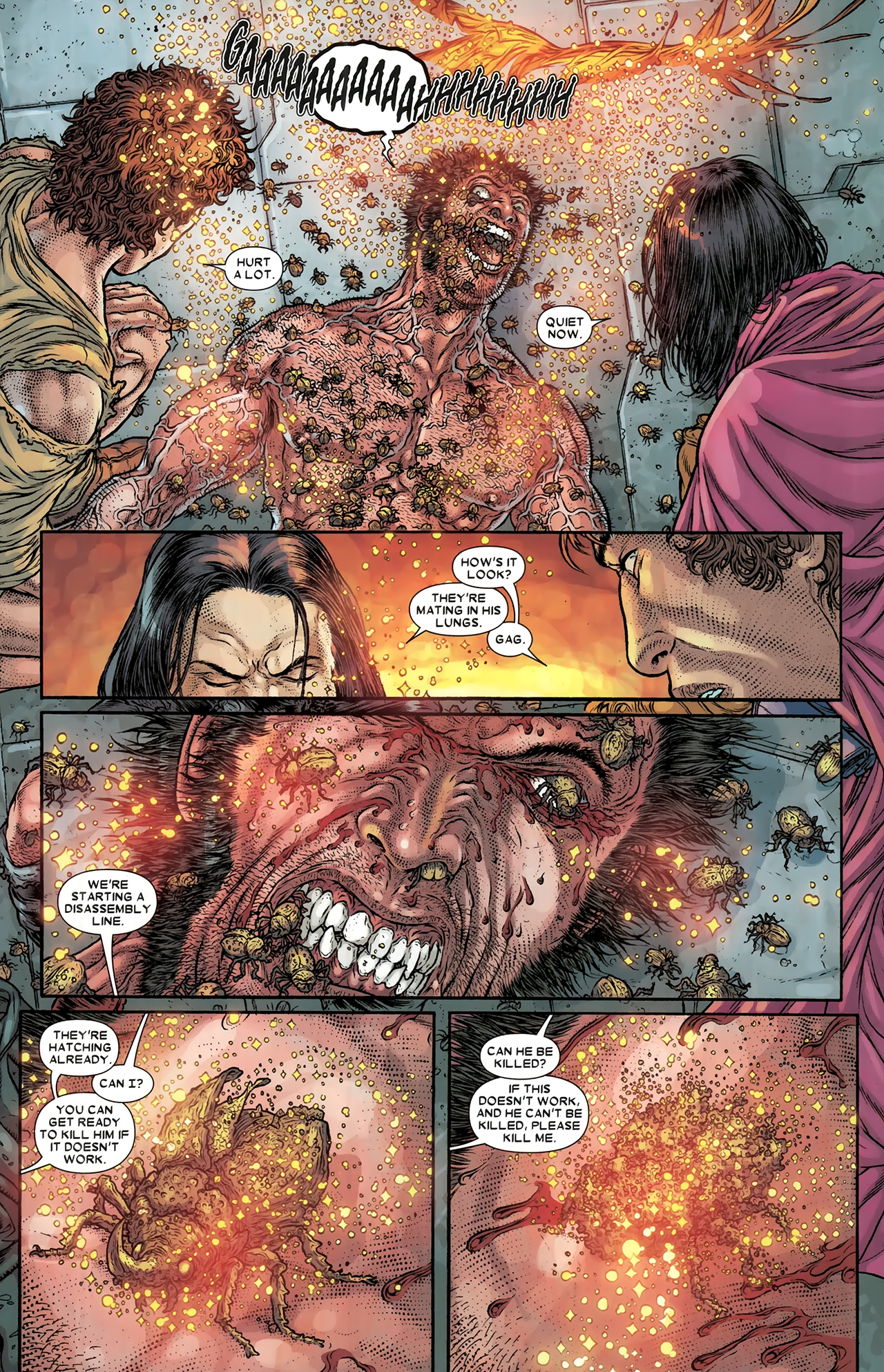 Read online Wolverine: The Best There Is comic -  Issue #10 - 4