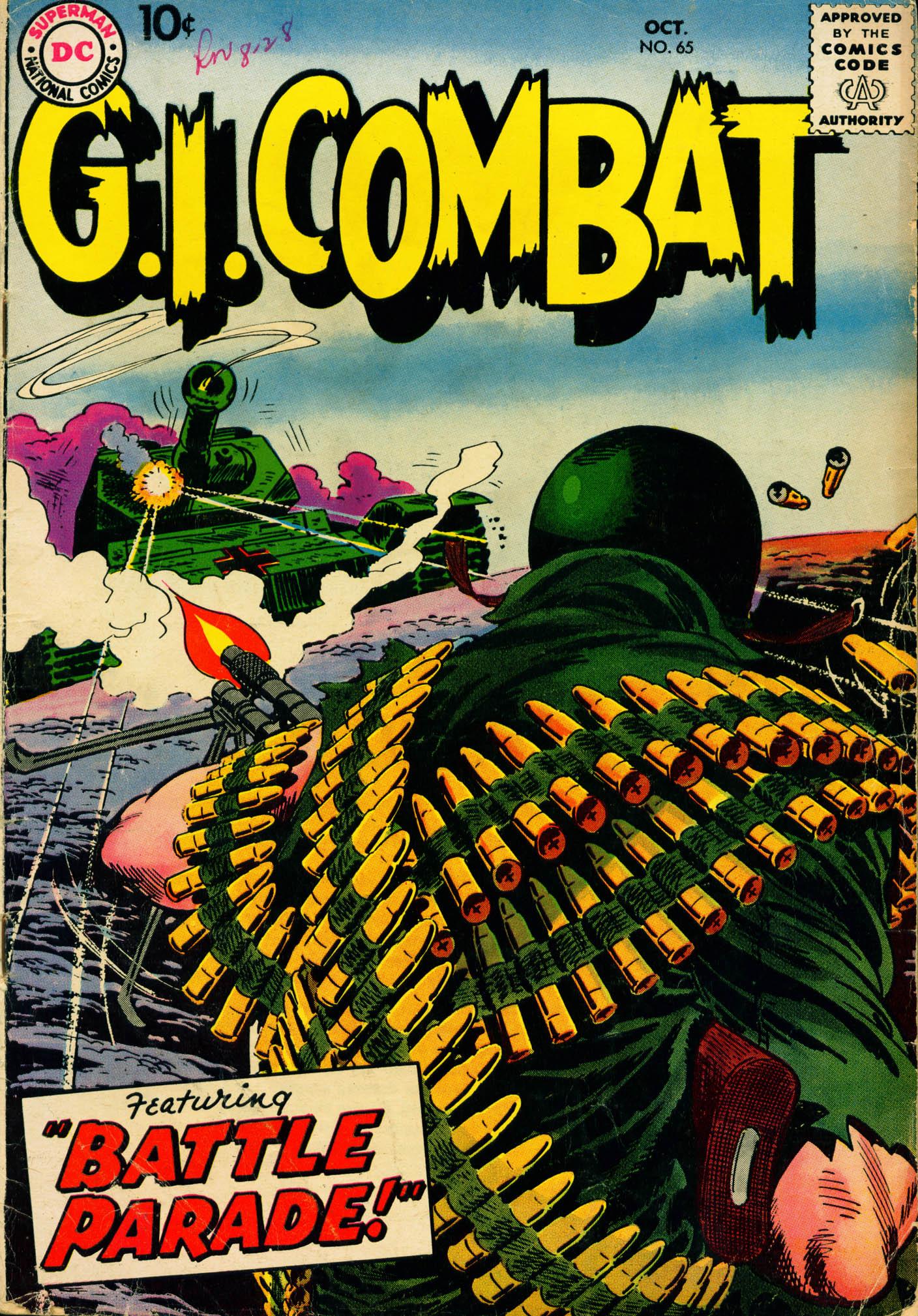 G.I. Combat (1952) 65 Page 1