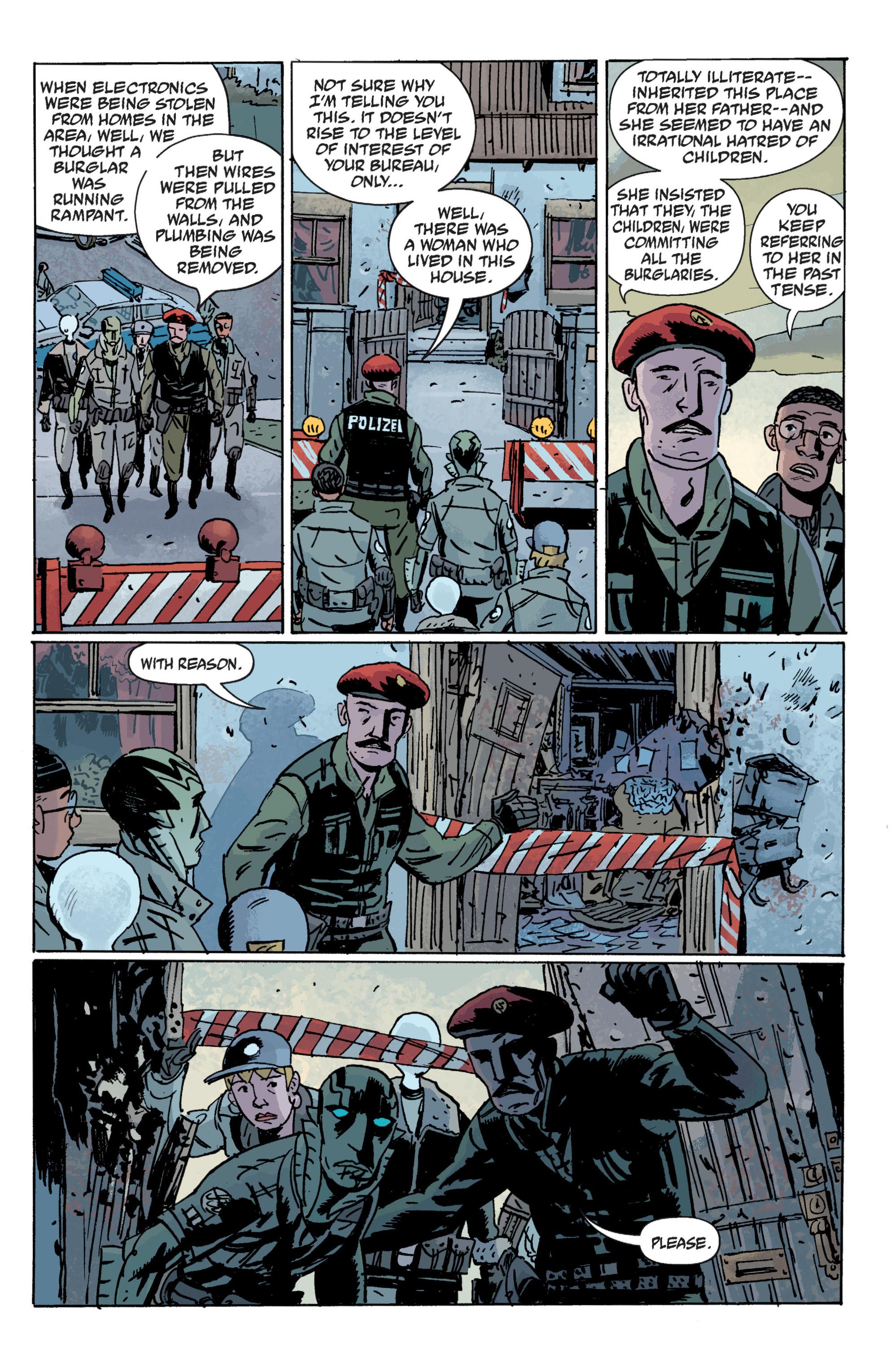 Read online B.P.R.D. (2003) comic -  Issue # TPB 10 - 71