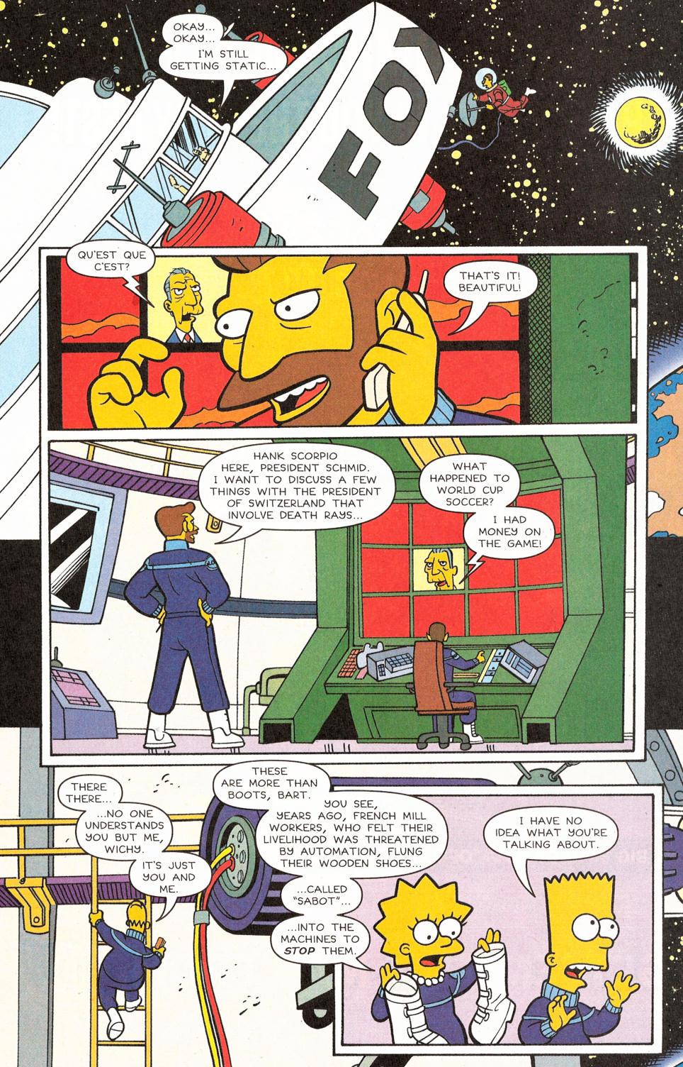 Read online Simpsons Comics comic -  Issue #117 - 22