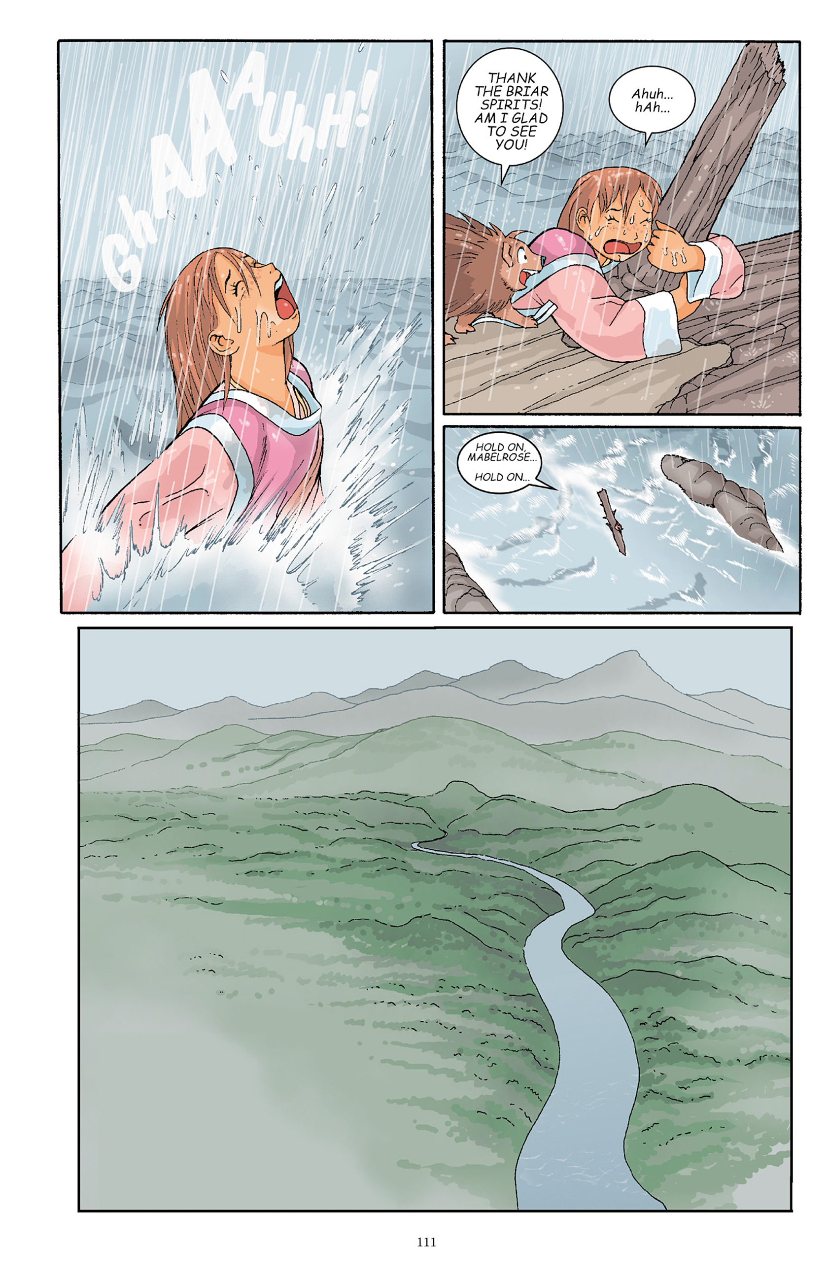 Read online Courageous Princess comic -  Issue # TPB 1 - 110