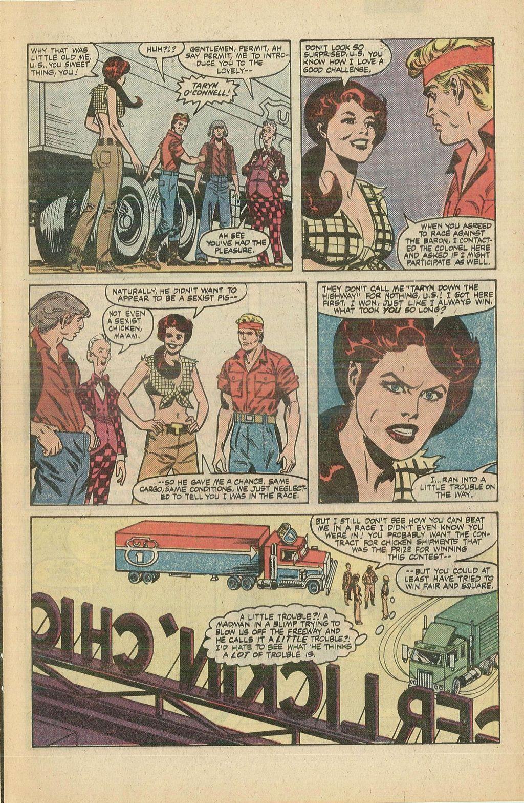 Read online U.S. 1 comic -  Issue #5 - 7